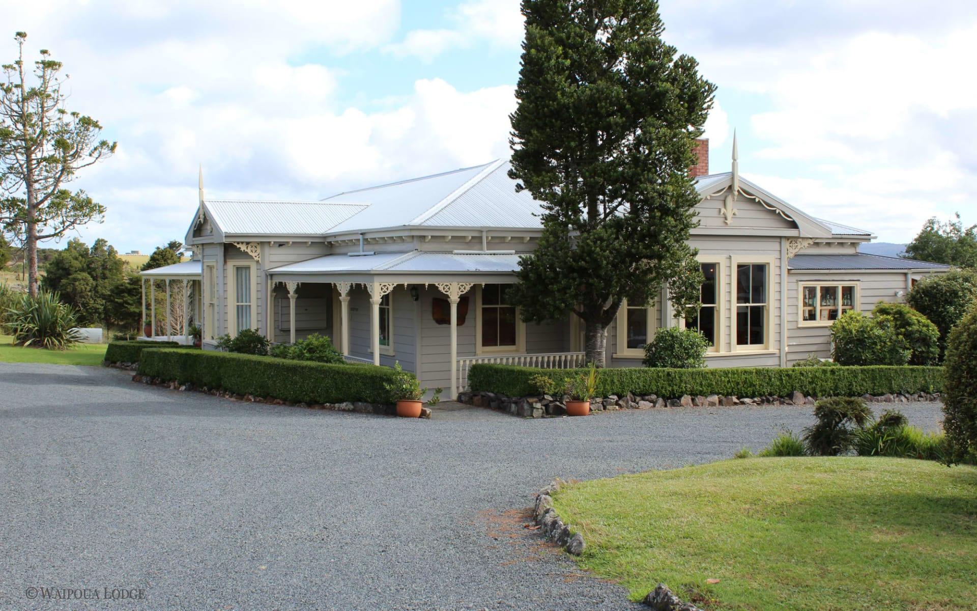 Waipoua Lodge in Dargaville:  Waipoua Lodge - Ansicht