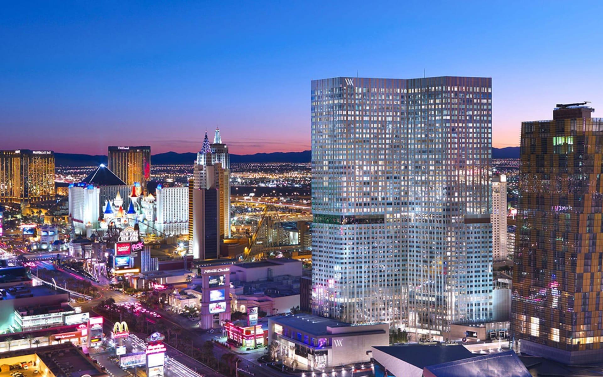 Waldorf Astoria Las Vegas:  Waldorf Astoria Las Vegas - Ansicht