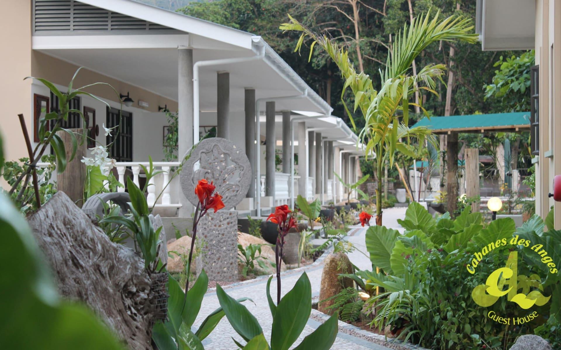 Cabanes des Anges in La Digue: