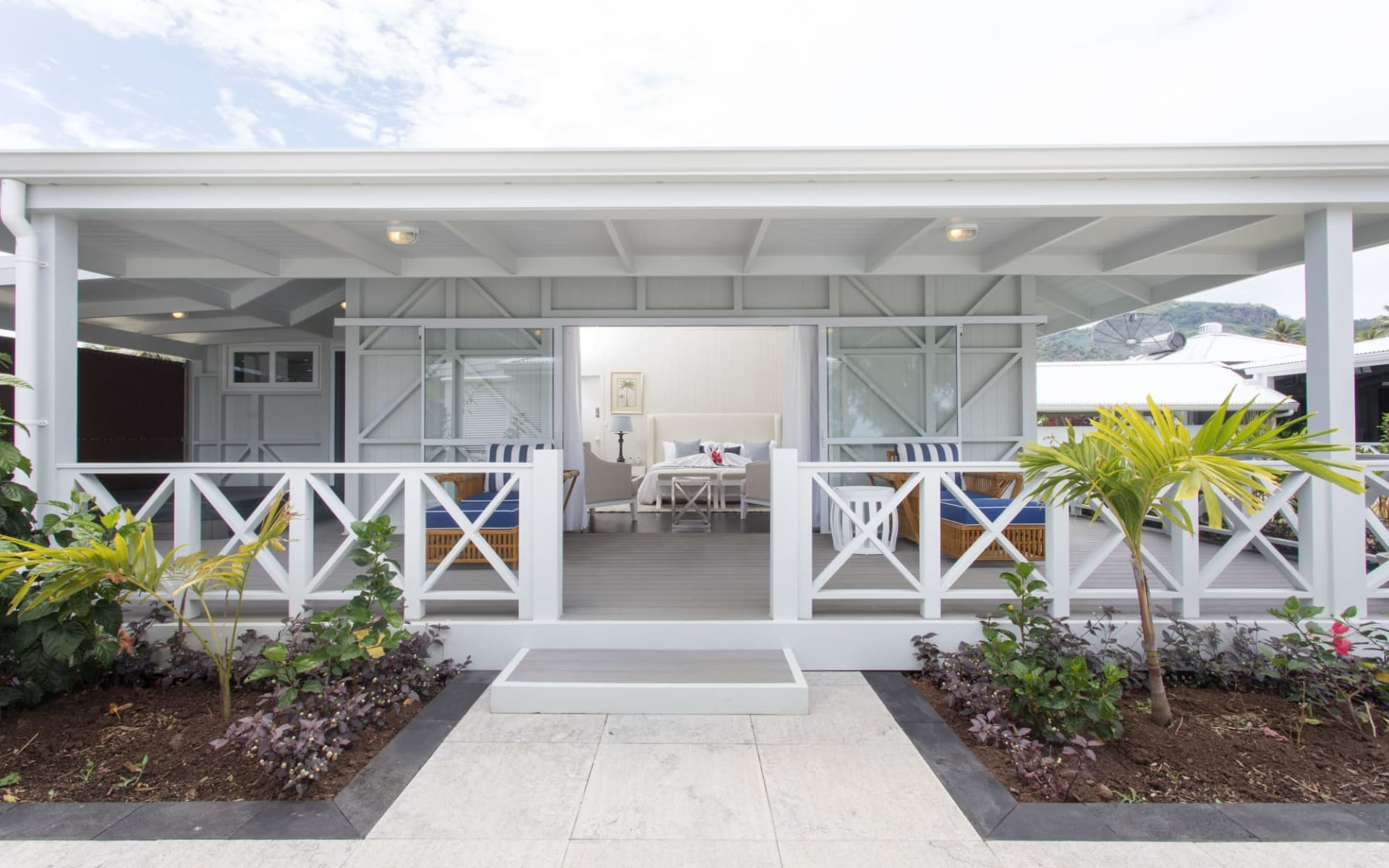 Waterfoot House in Rarotonga:  Waterfoot-House-Master-King-Suite-exterior