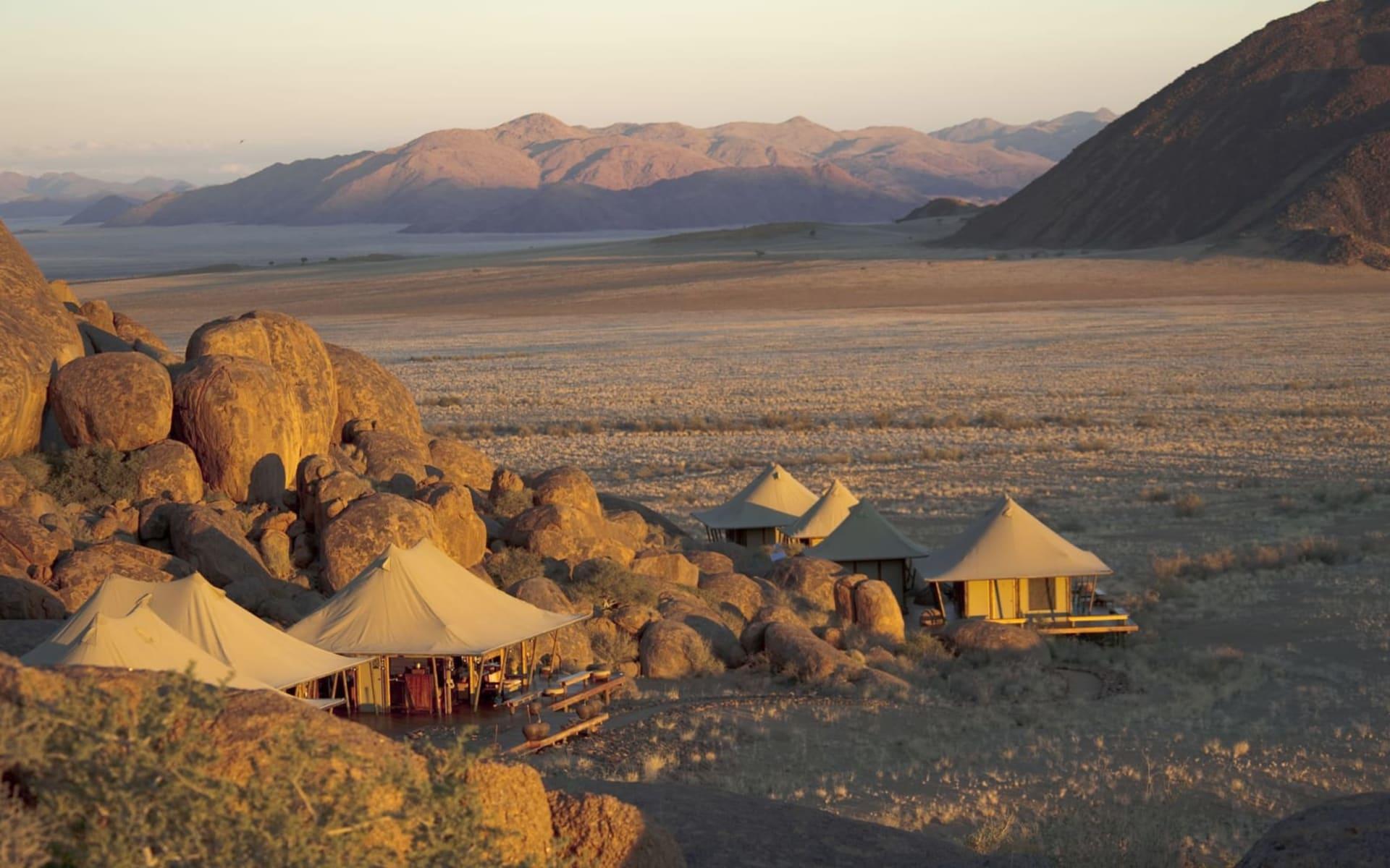 Wolwedans Boulders Safari Camp in NamibRand Nature Reserve: Wolwedans Boulders Camp