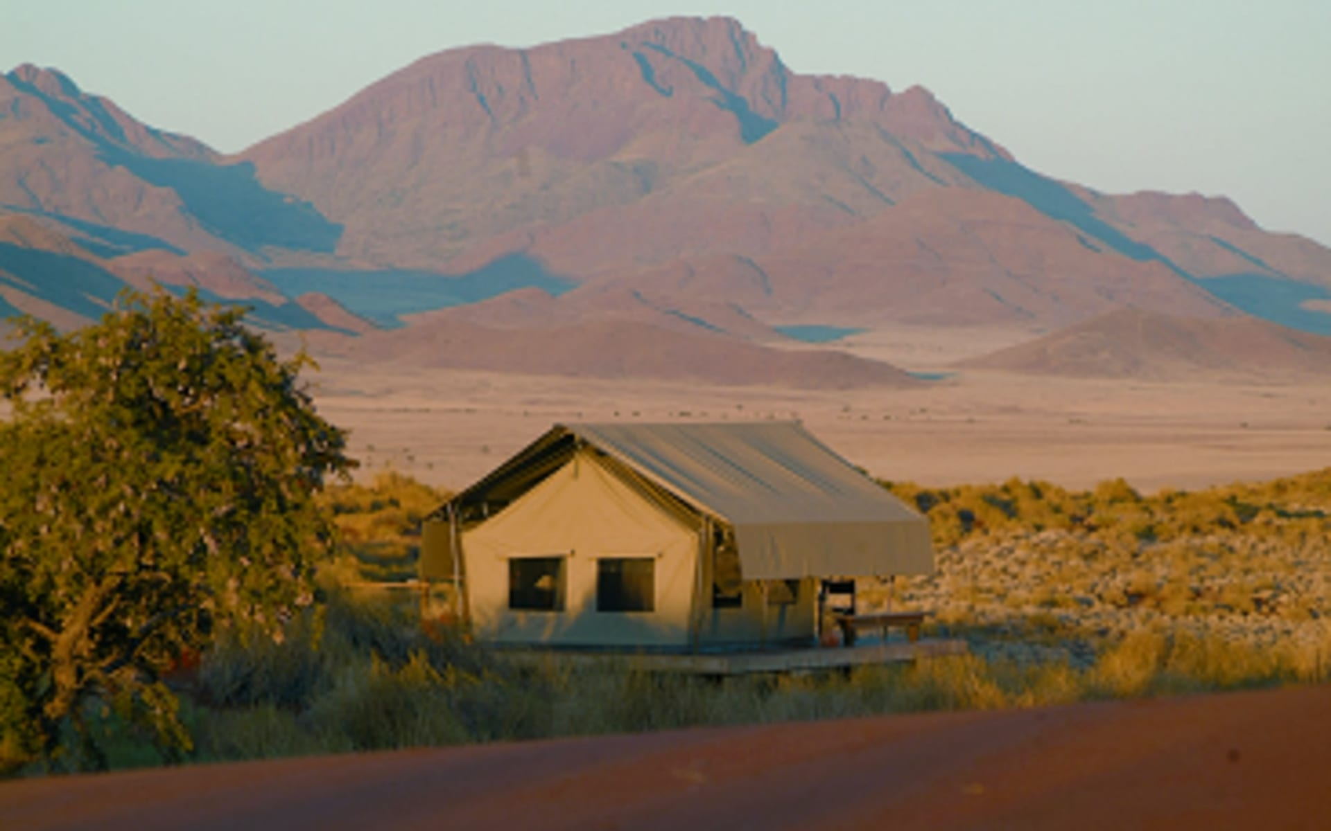 Wolwedans Dune Camp in NamibRand Nature Reserve:  Wolwedans - Dune Camp