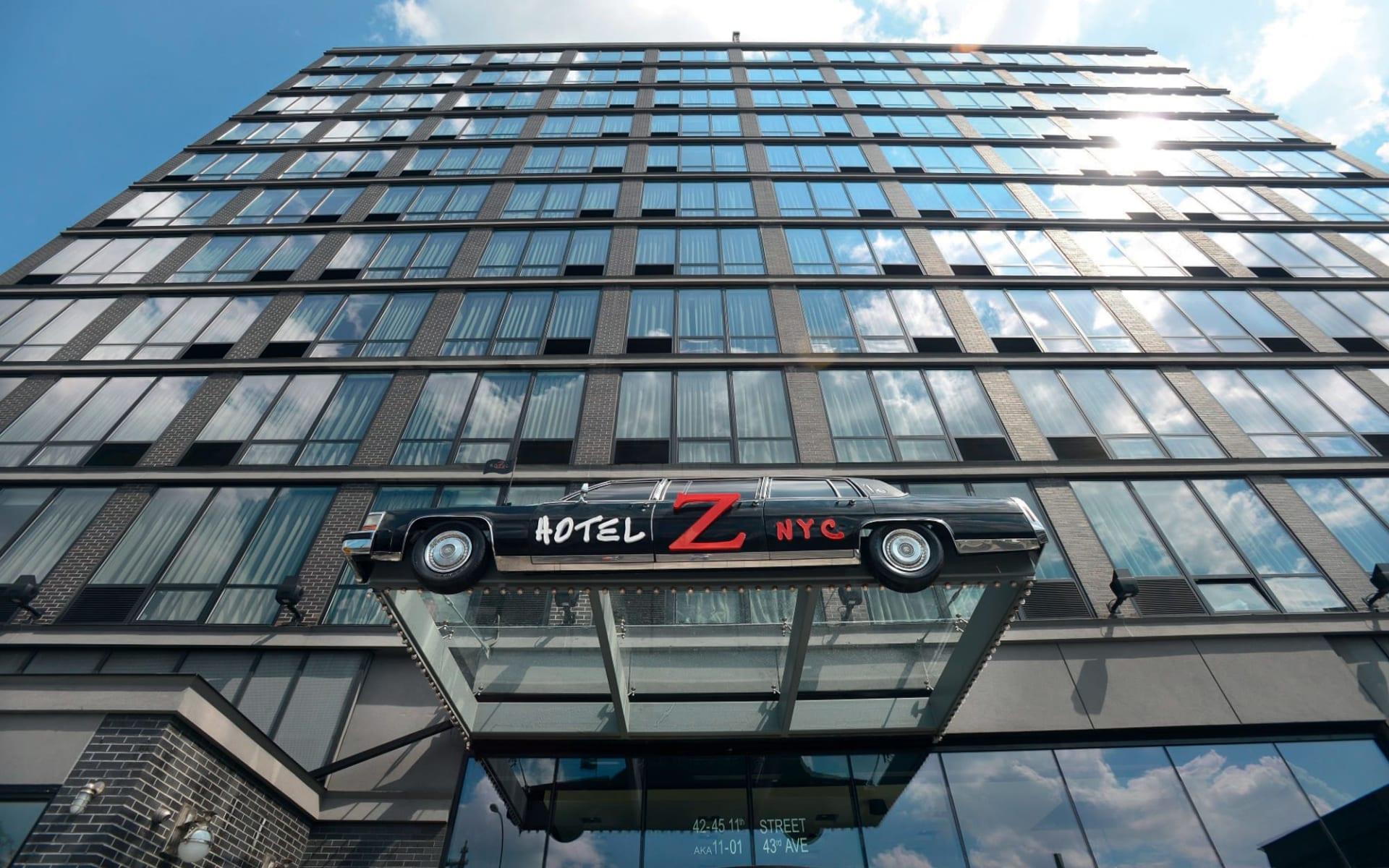 Z Hotel New York in New York - Queens: exterior z hotel hotelgebäude