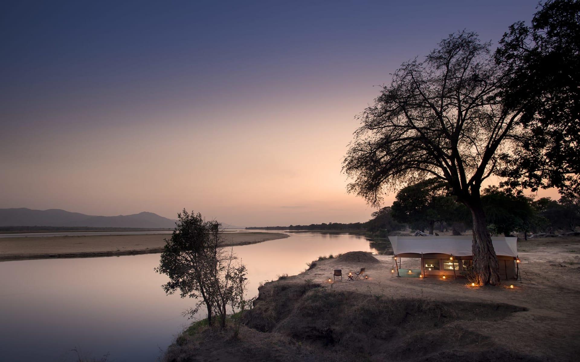 Zambezi Expeditions Camp in Mana Pools Nationalpark: Zambezi Expeditions_ ze_004