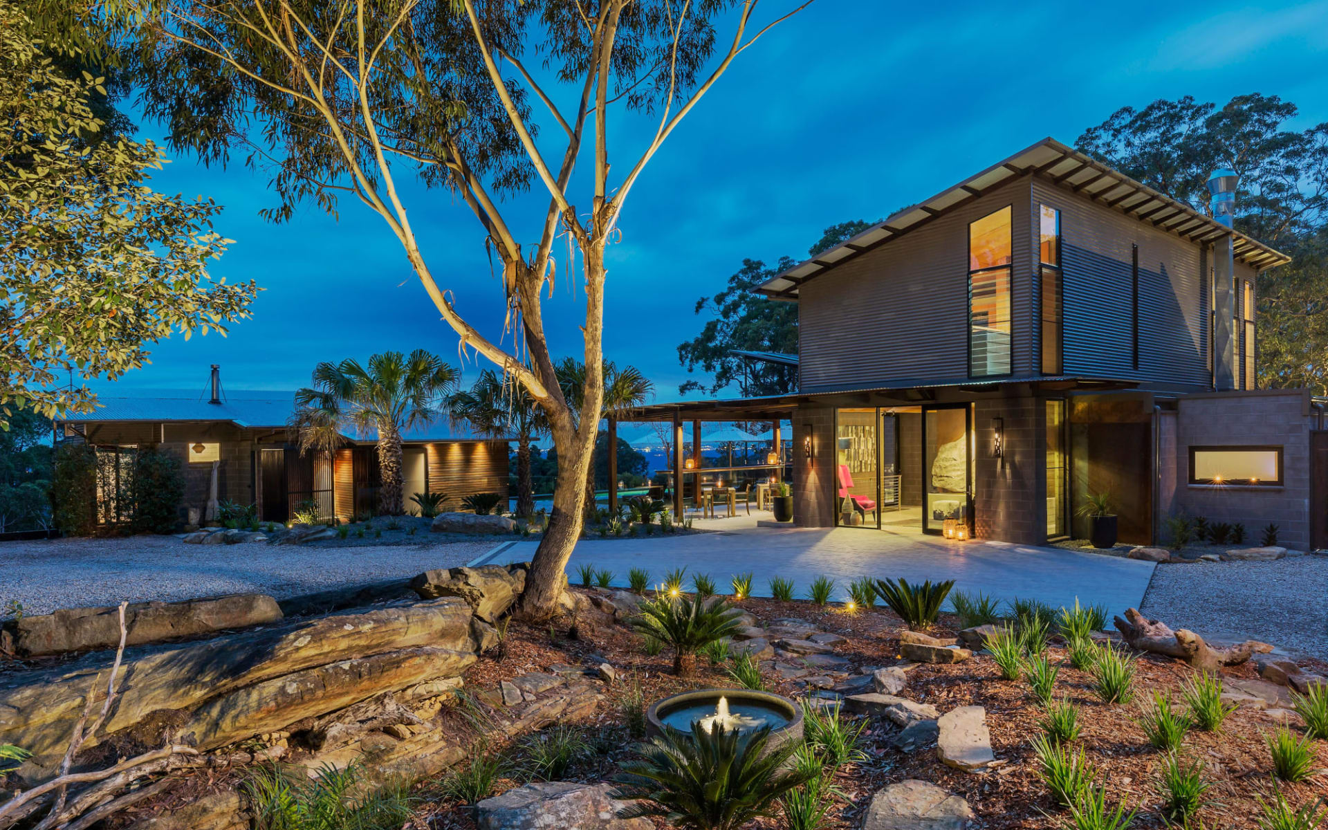 Spicers Sangoma Retreat in Blue Mountains: External Driveway