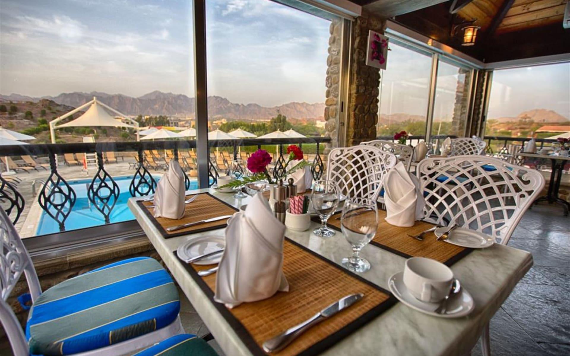 JA Hatta Fort Hotel: