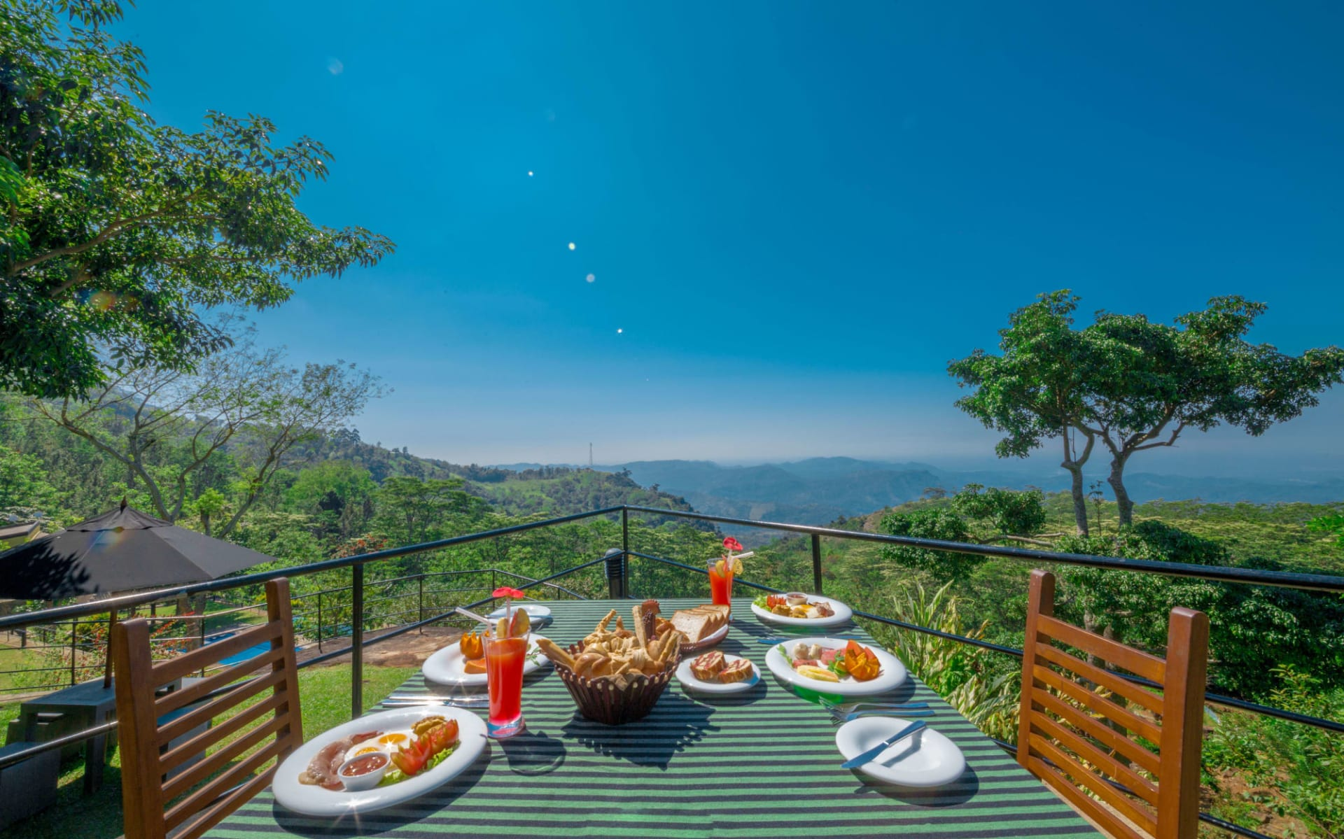 Melheim Resort in Ella, Haputale, Koslanda: Breakfast with a View