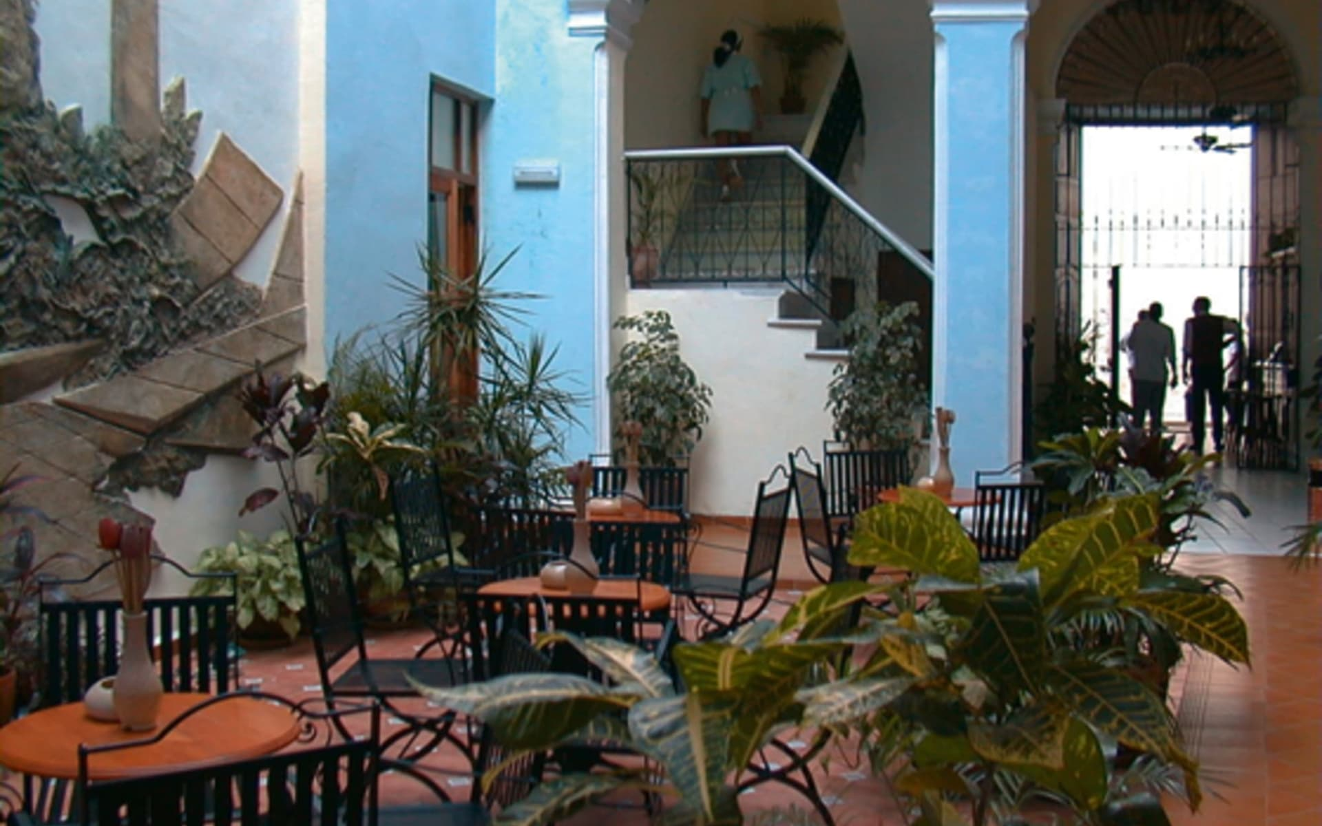 Hotel Del Tejadillo in Havanna:  Havanna_Del Tejadillo_Restaurant