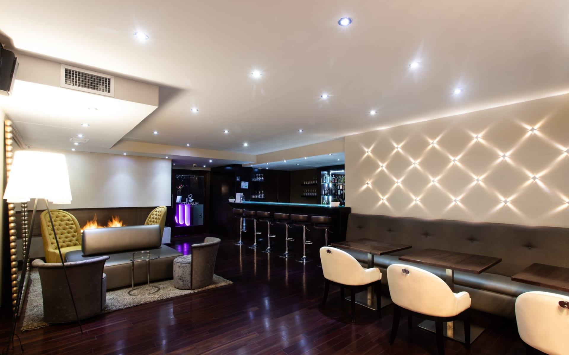 Stannum Hotel in La Paz:  Lounge Piso 12 A