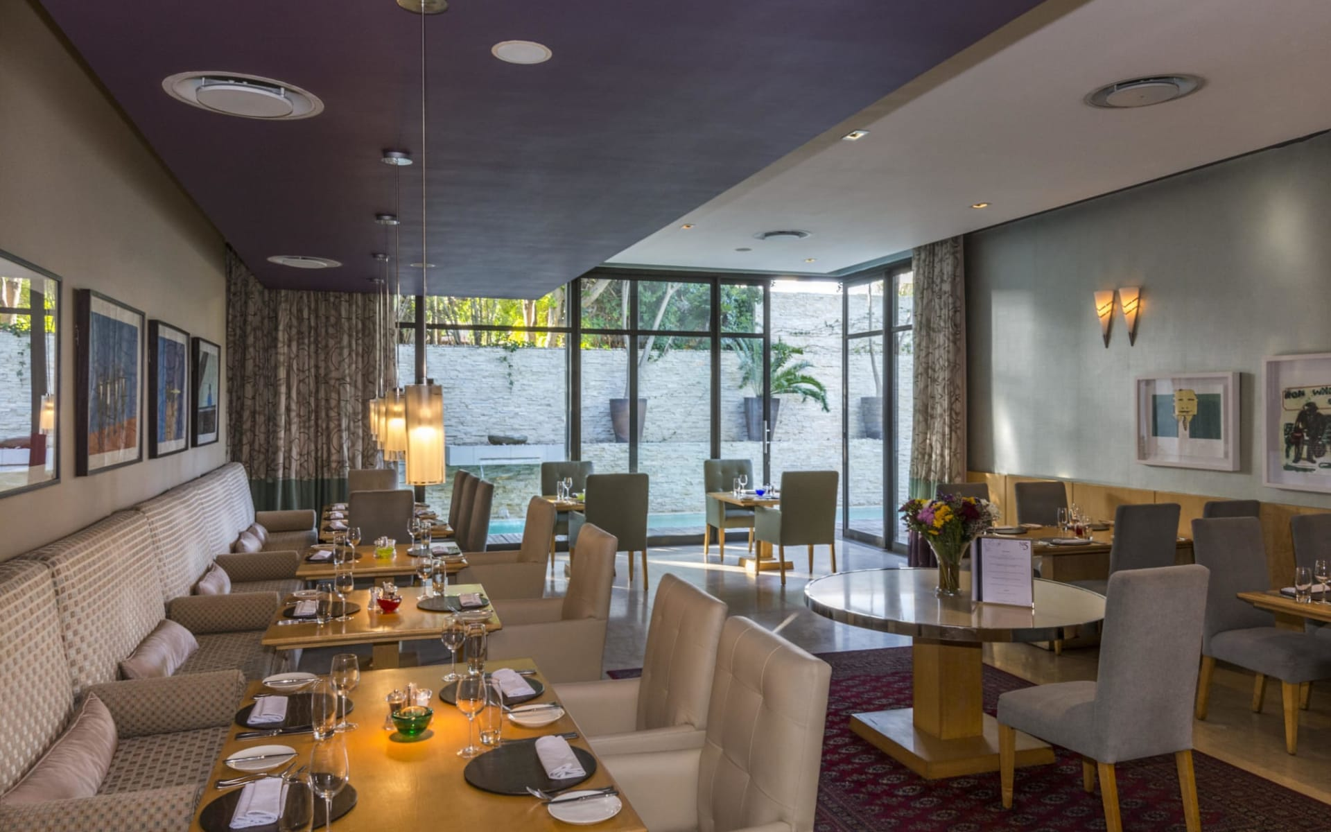 No 5 Boutique Hotel in Port Elizabeth:  No5 by Mantis-restaurant