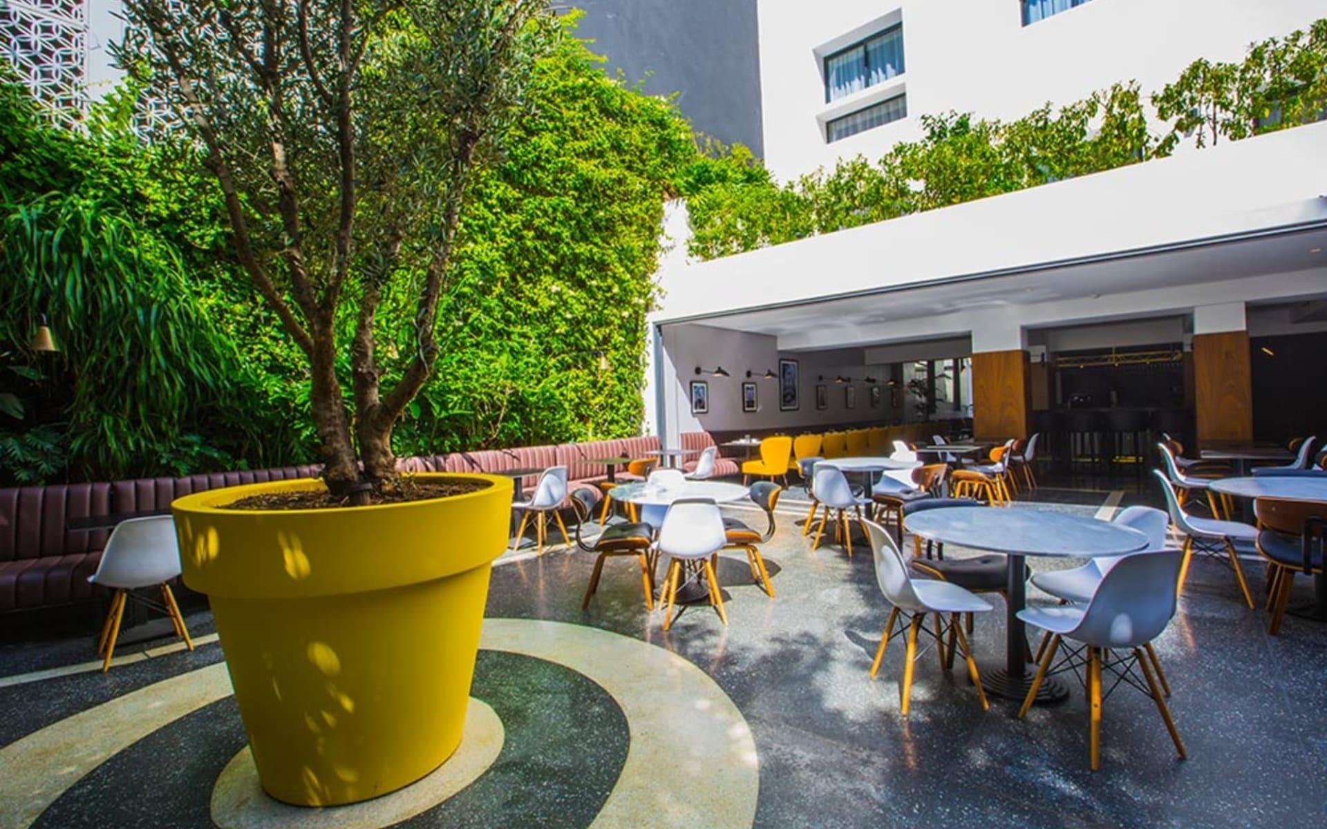 Hotel Gauthier in Casablanca:  Restaurant