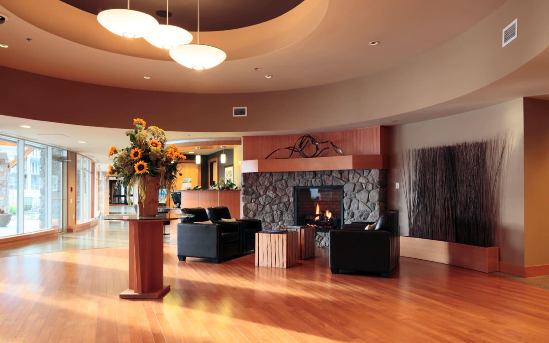 The Beach Club Resort in Parksville:  Beach Club Resort_Lobby