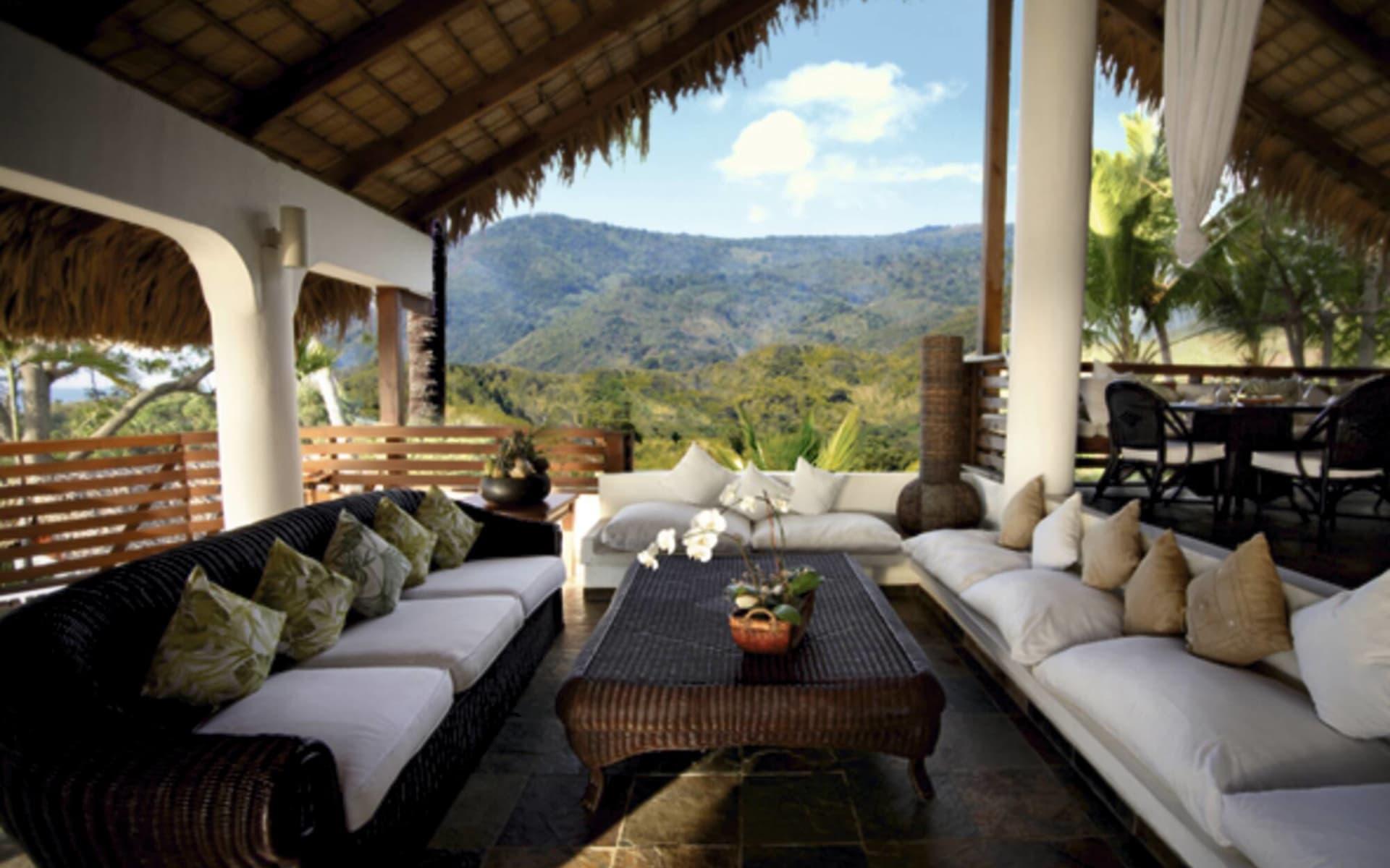 Casa Bonita in Barahona: facilities casa bonita terrasse