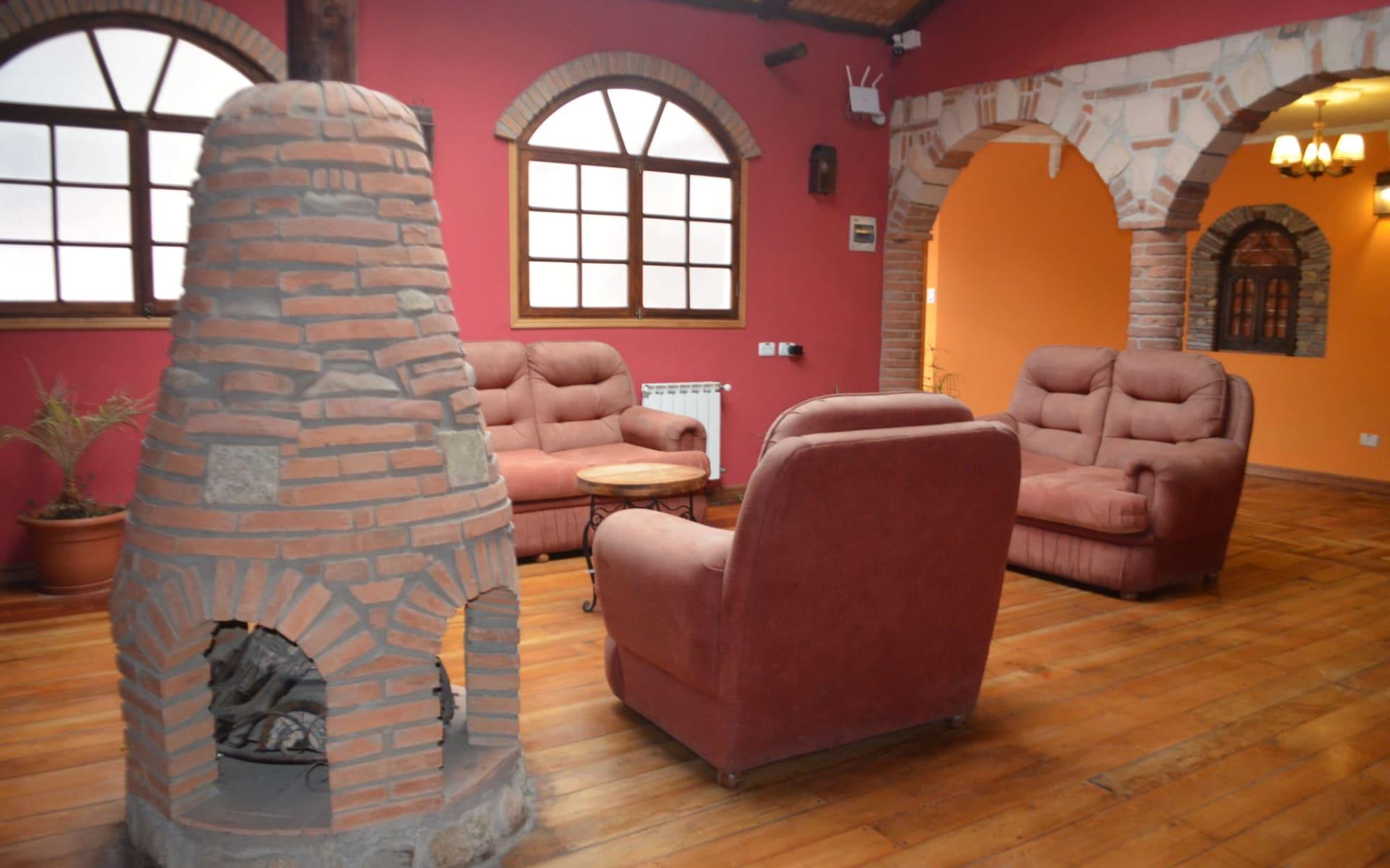 Casa de Piedra in La Paz: casa de piedra - Saloon