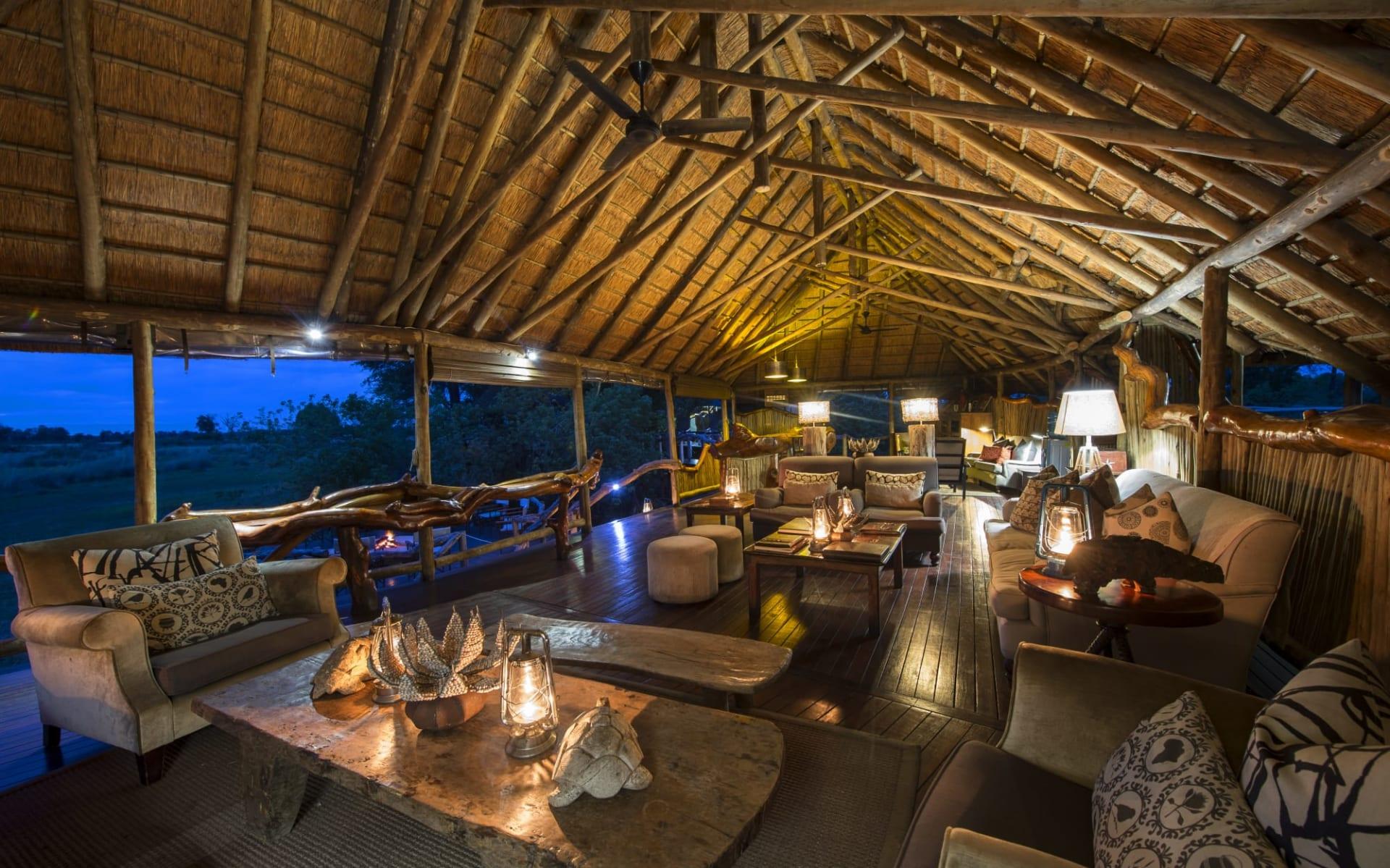 Chitabe Camp in Okavango Delta: Chitabe Camp