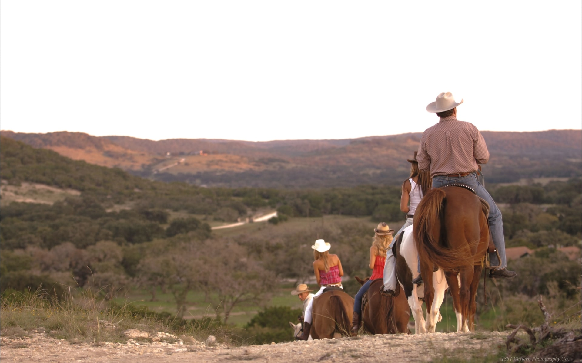 Dixie Dude Guest Ranch in Bandera: Facilities_Dixie Dude Ranch_Reiten