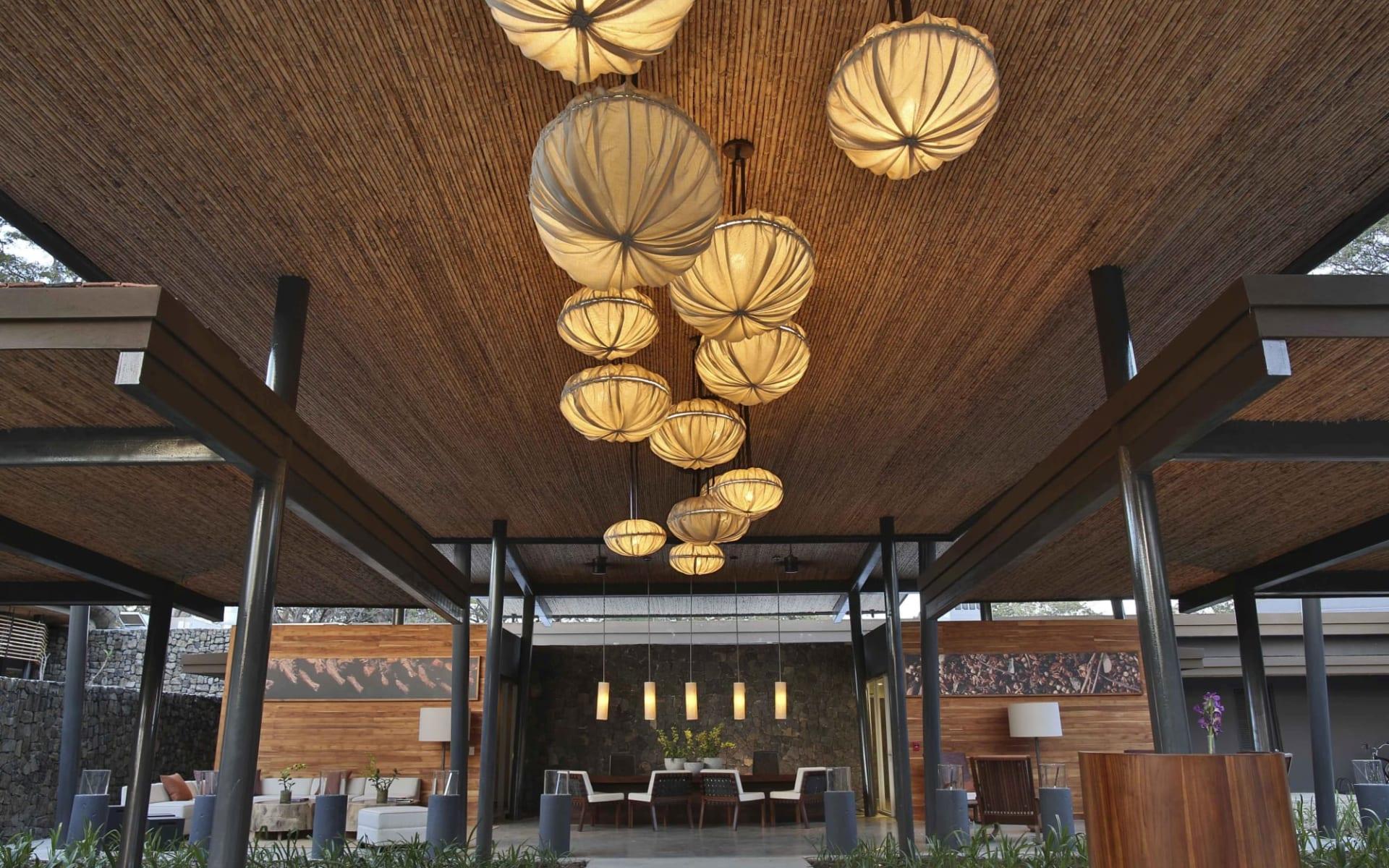 El Mangroove in Golfo Papagayo:  El Mangroove Reception