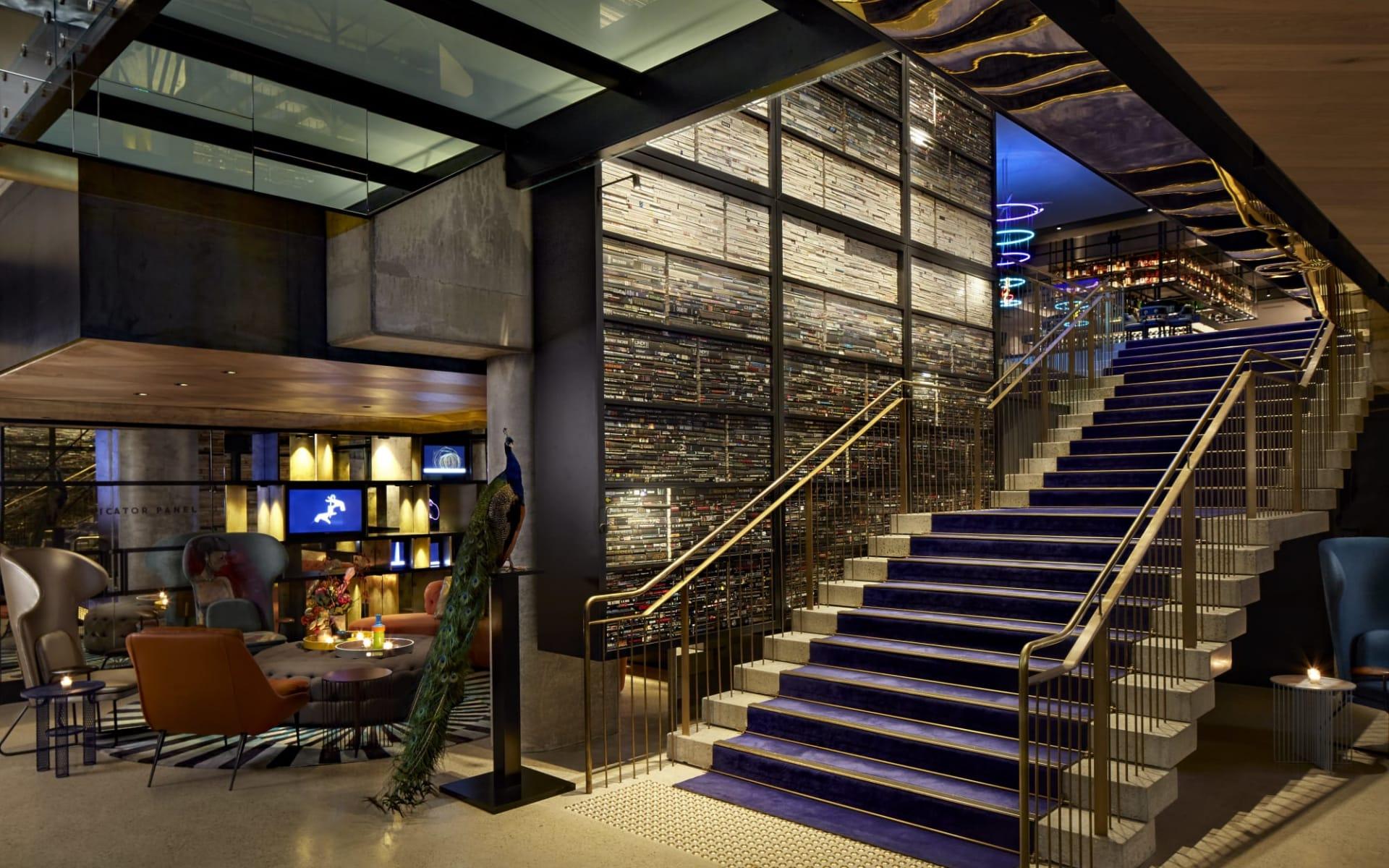 QT Melbourne:  Entry Staircase copy