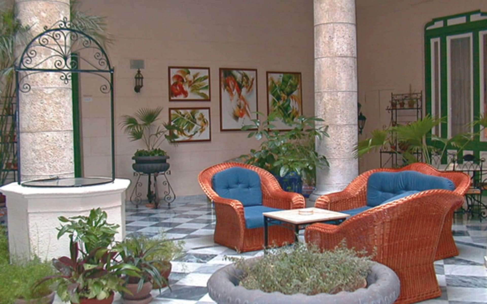 Hotel Florida in Havanna: Havana_Hotel Florida_Lobby