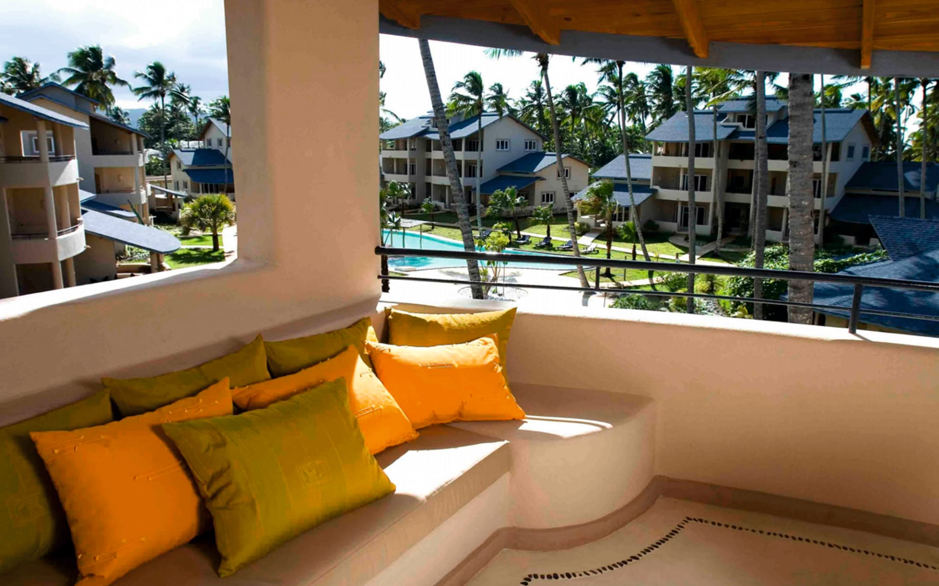 Hotel Alisei in Las Terrenas: facilities hotel alisei balkon pool