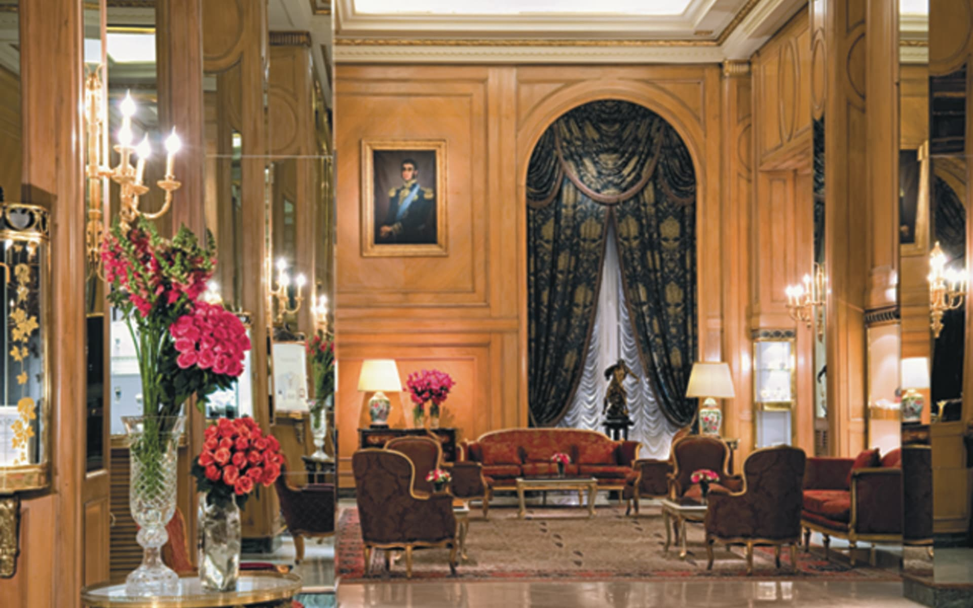 Alvear Palace in Buenos Aires: facilities Hotel Alvear Palace Lobby des Hotels