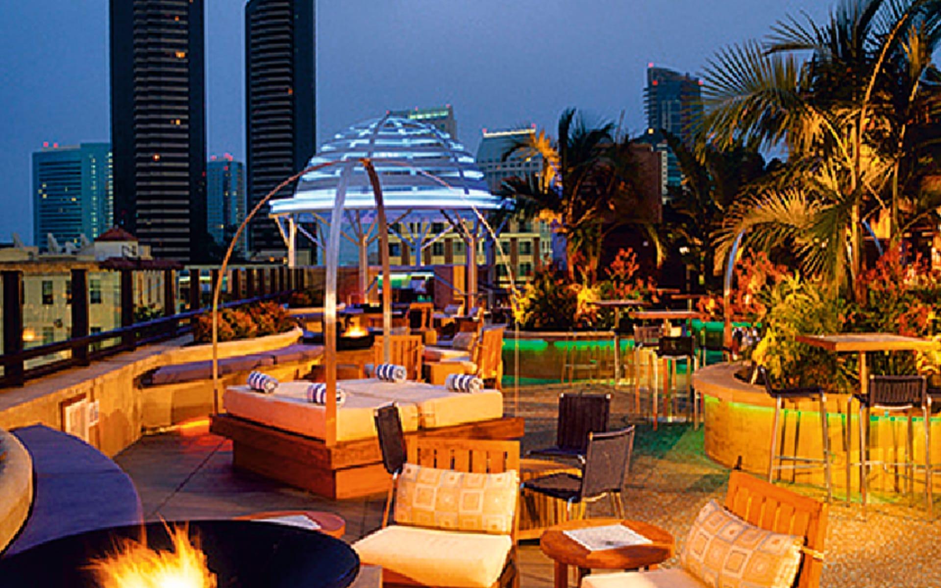 Solamar Hotel in San Diego: facilities hotel solamar a kimpton hotel feuerschale lounges