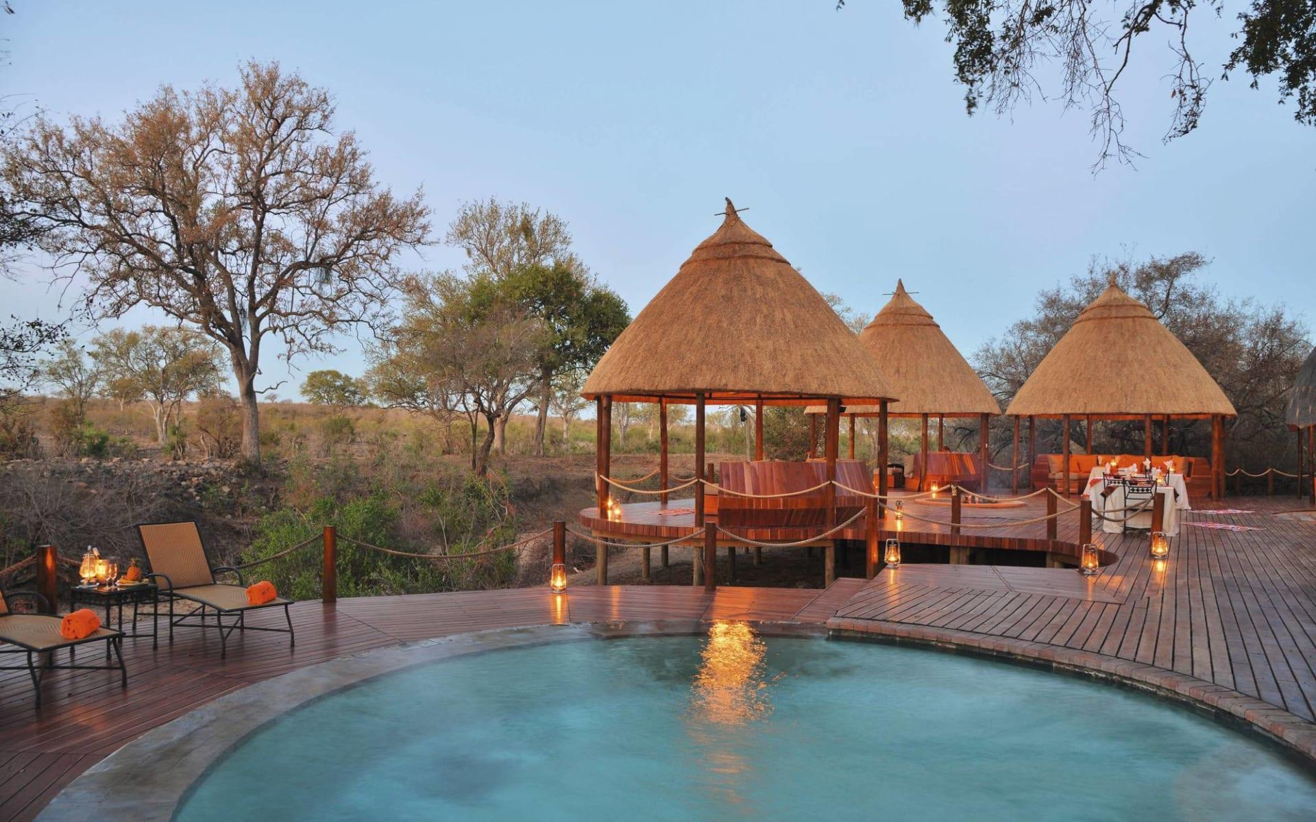 Hoyo Hoyo Safari Lodge in Krüger Nationalpark:  Hoyo Hoyo - swimmingpool
