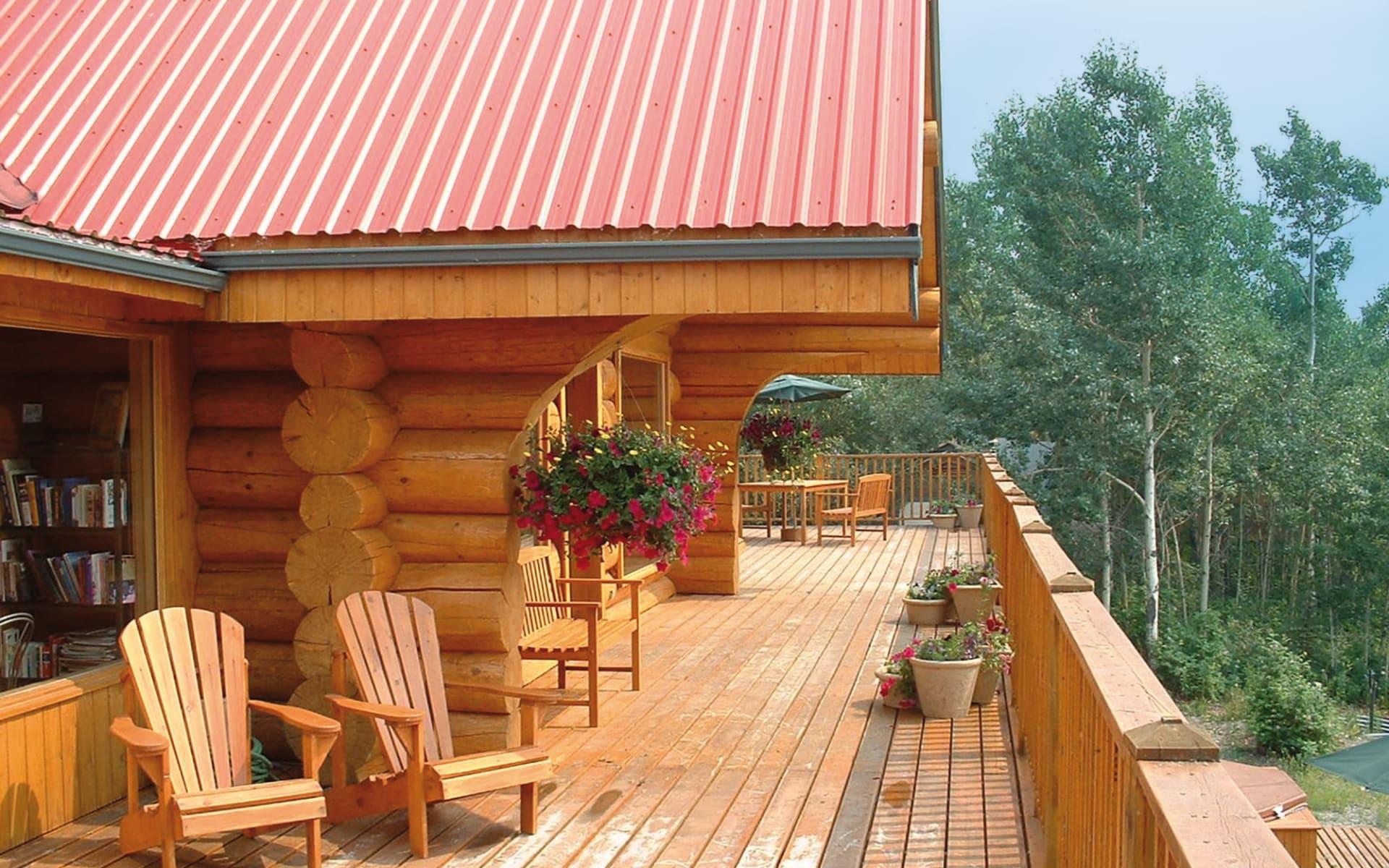 Inn on the Lake in Marsh Lake - Whitehorse: _Inn on the Lake -Balkon