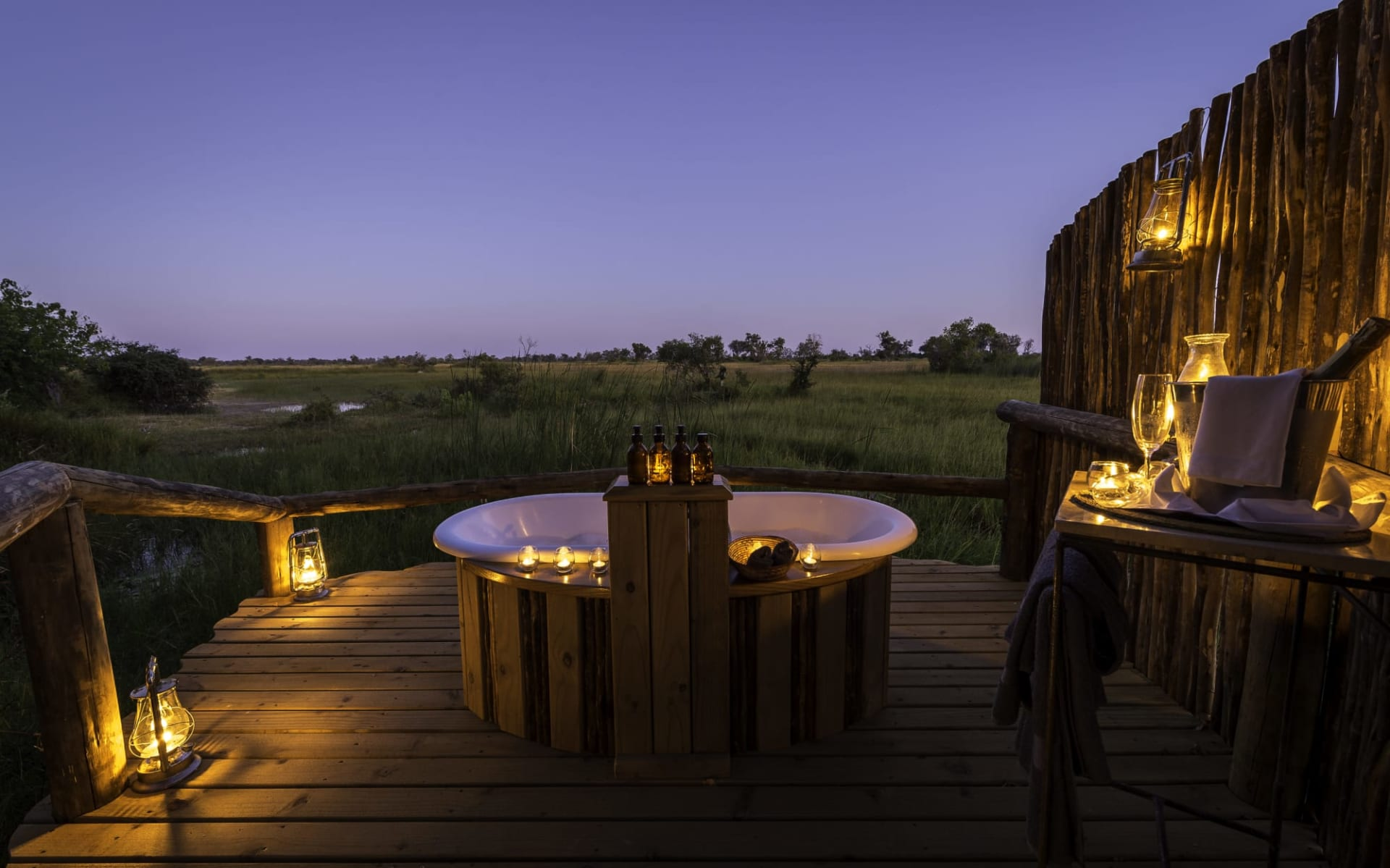 Little Vumbura in Okavango Delta:  Little Vumbura Camp