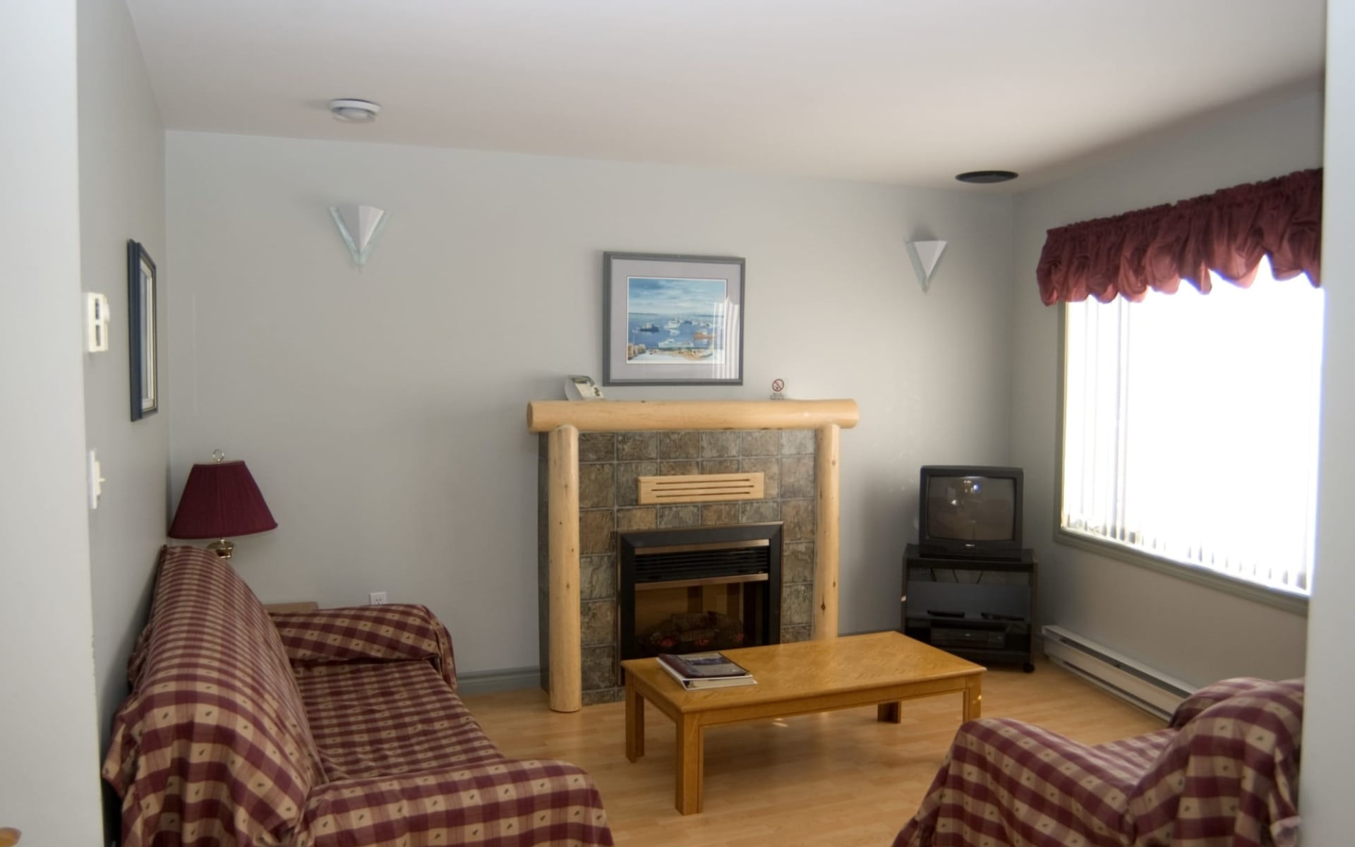 Les Chalets du Havre in Richibucto:  Living_Room
