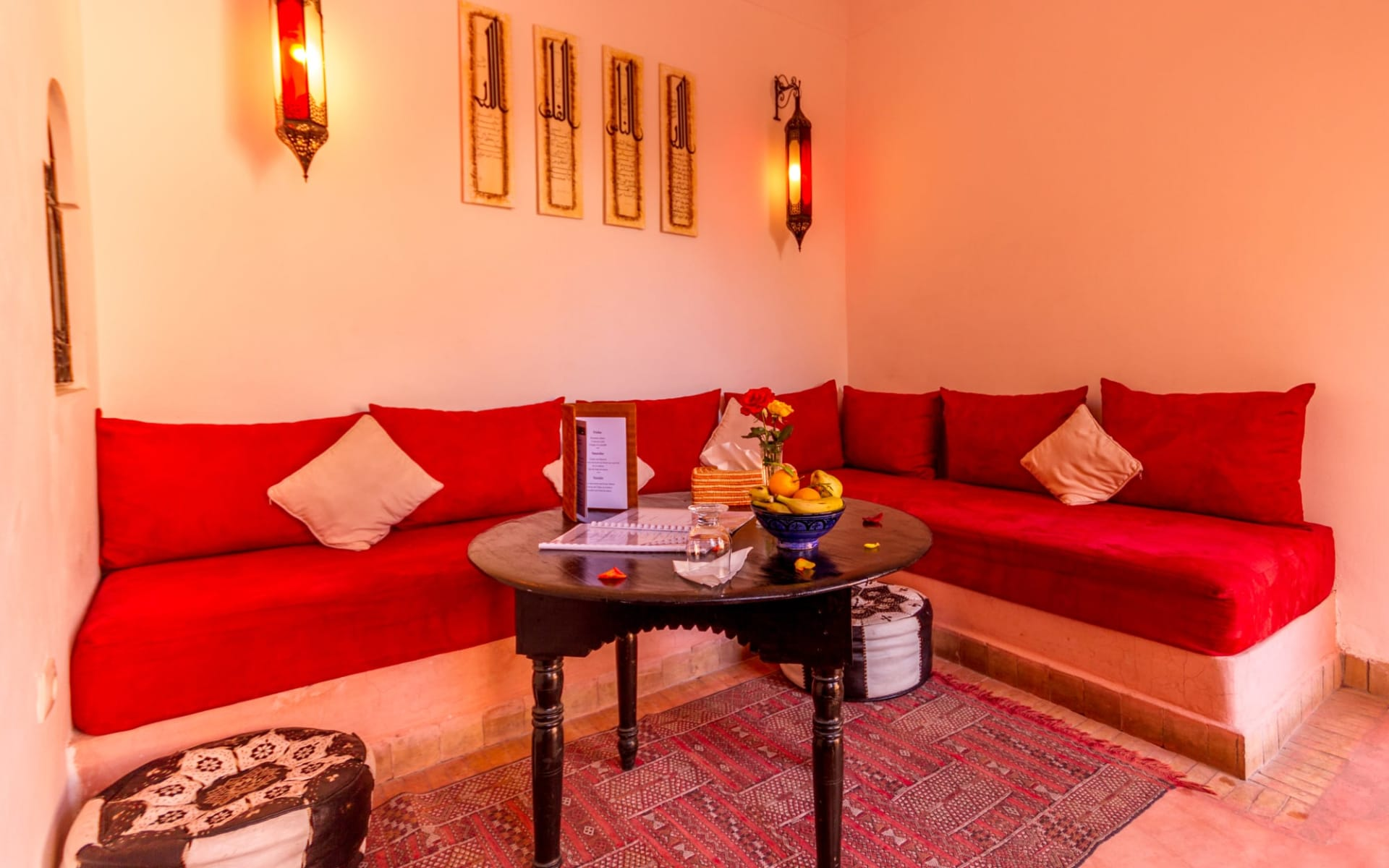 Riad Nora in Marrakesch: living room