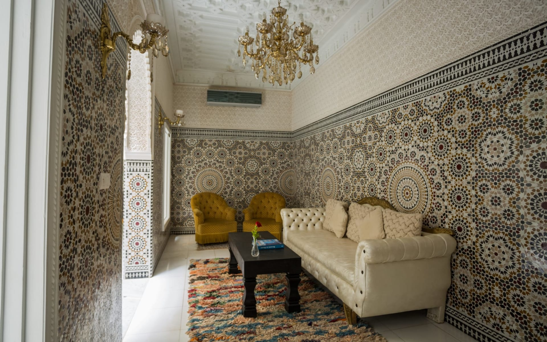 Riad Dar Grawa in Marrakesch: living room