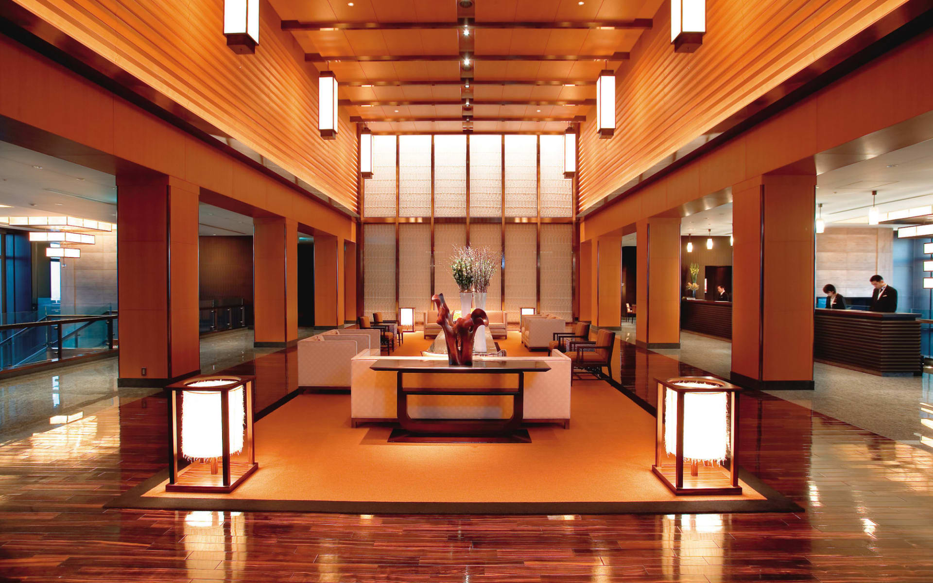 Mandarin Oriental in Tokio: Lobby