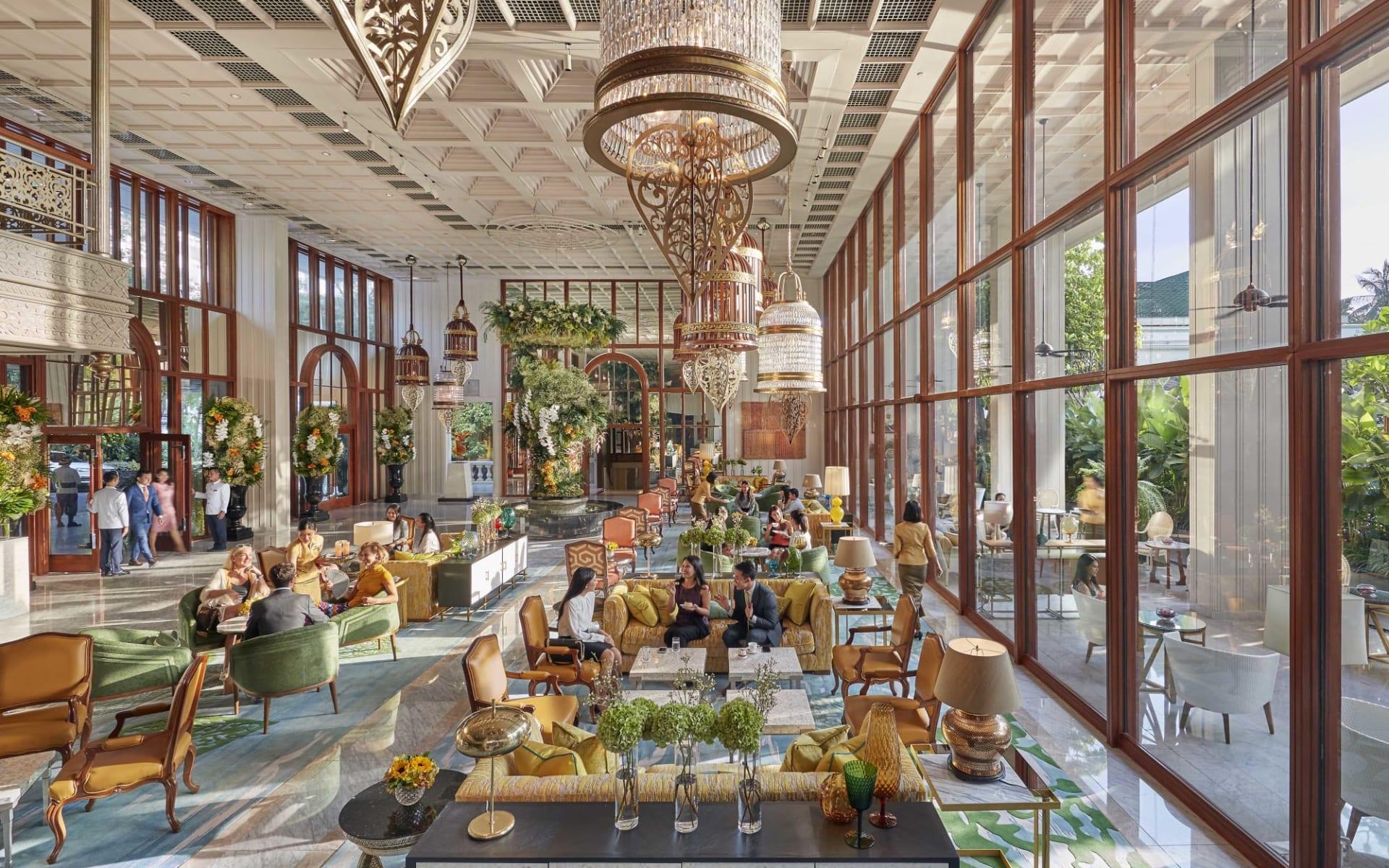 Mandarin Oriental in Bangkok: Lobby