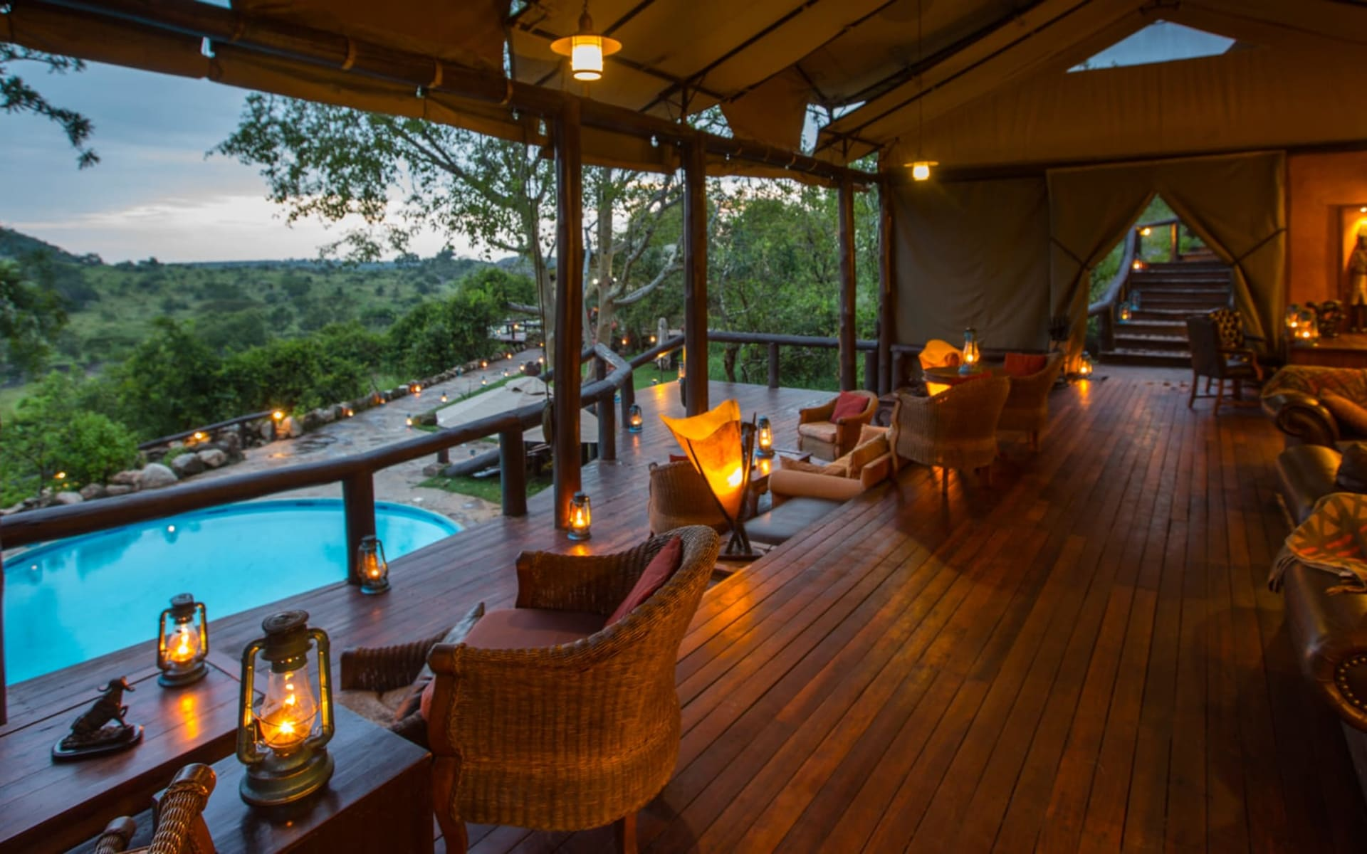 Serengeti Migration Camp: Main Lounge
