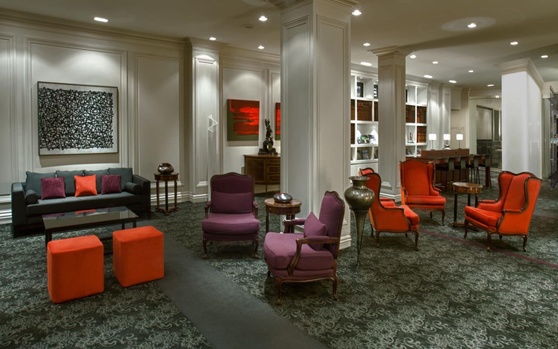Hotel Manoir Victoria in Québec City:  Manoir Victoria_Lobby