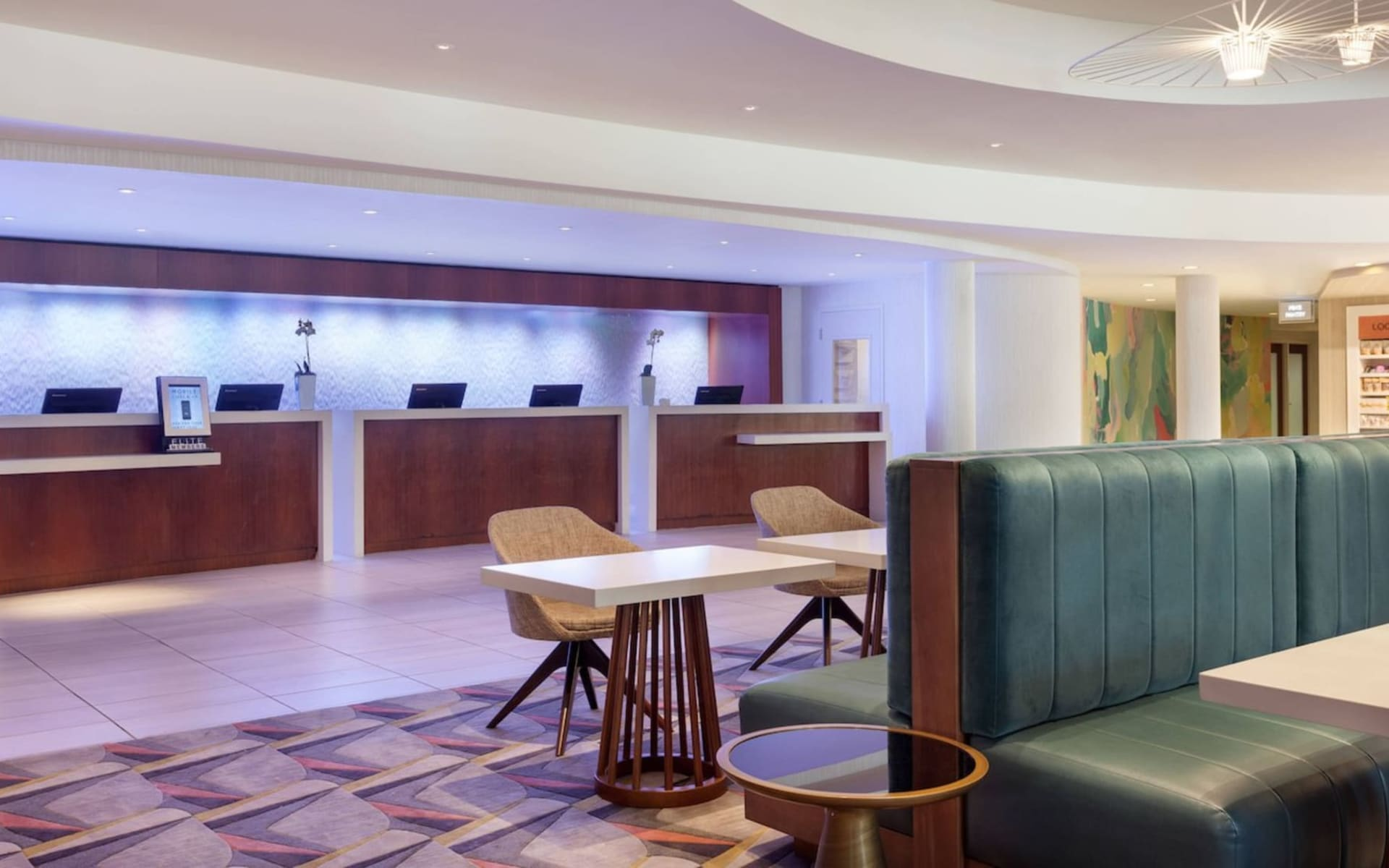 Marriott Miami Airport: Facilities_Marriott MIA Airport_Lobby_ATI