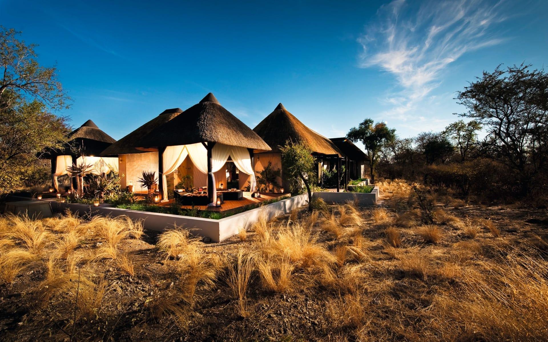 Mokuti Etosha Lodge in Etosha Nationalpark: Mokuti Etosha Lodge - Wellness im Mokuti