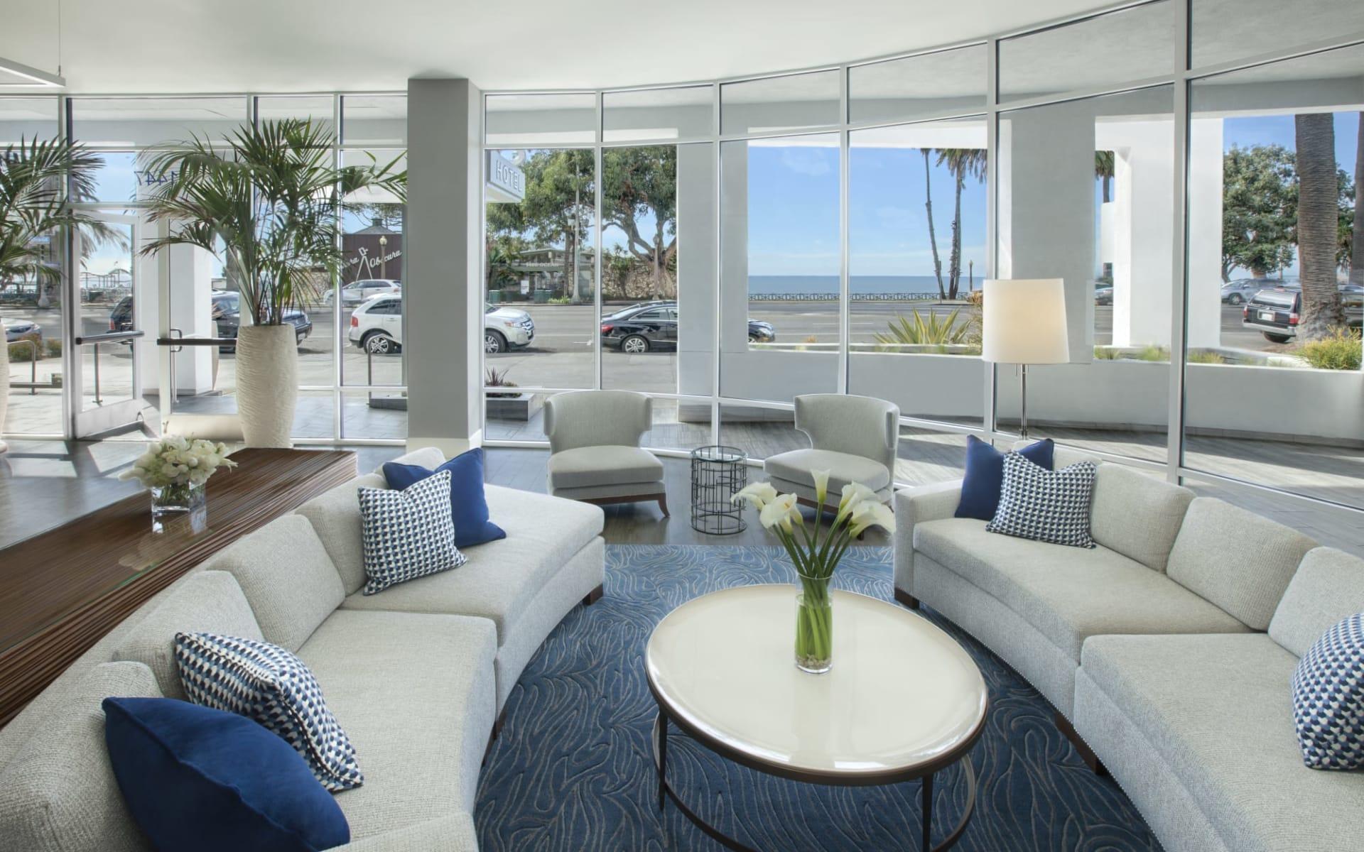 Ocean View Hotel Santa Monica:  Ocean View Hotel - Lobby