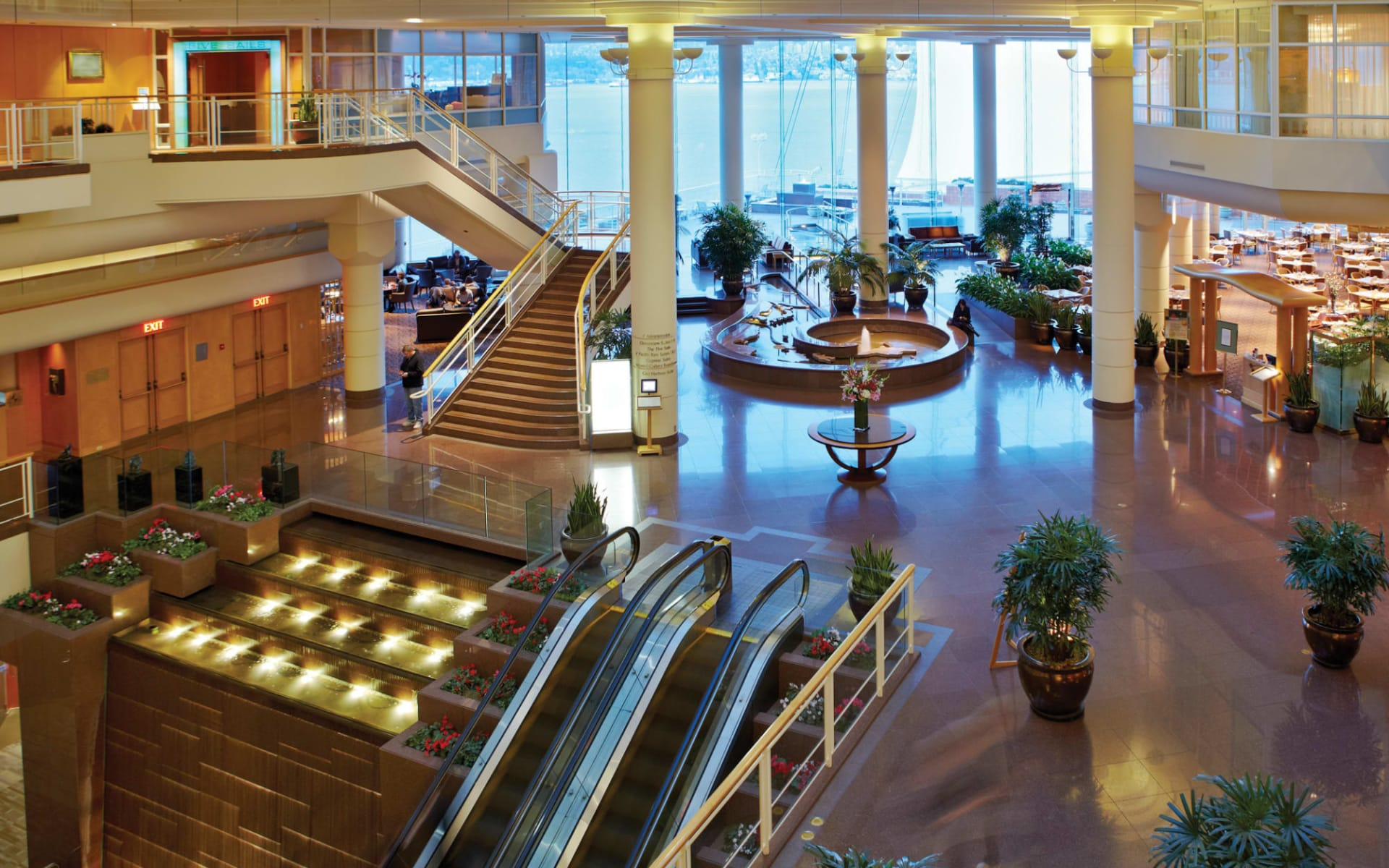 Pan Pacific in Vancouver: facilities_Pan Pacific_Lobby
