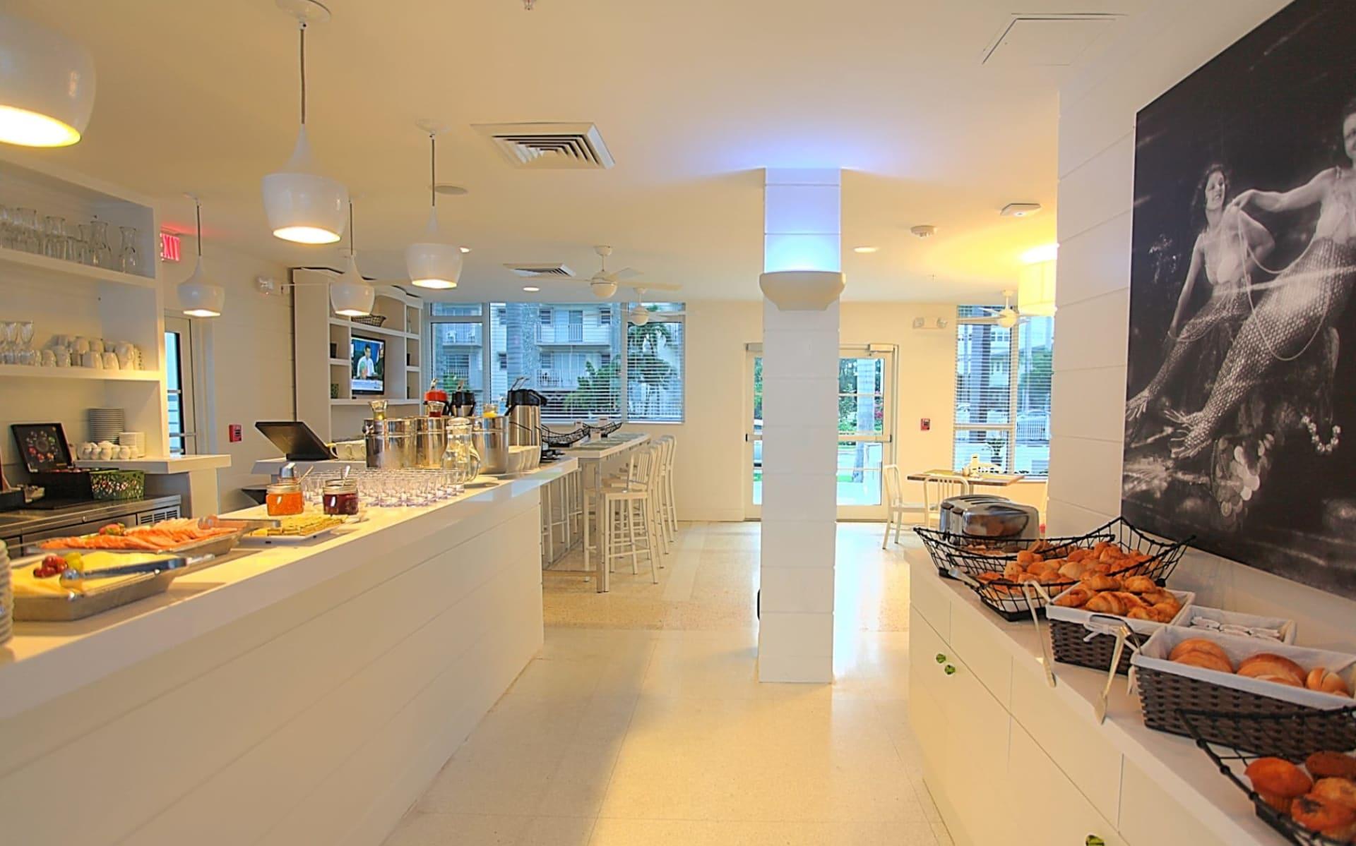 Pestana Hotel South Beach in Miami Beach: Café