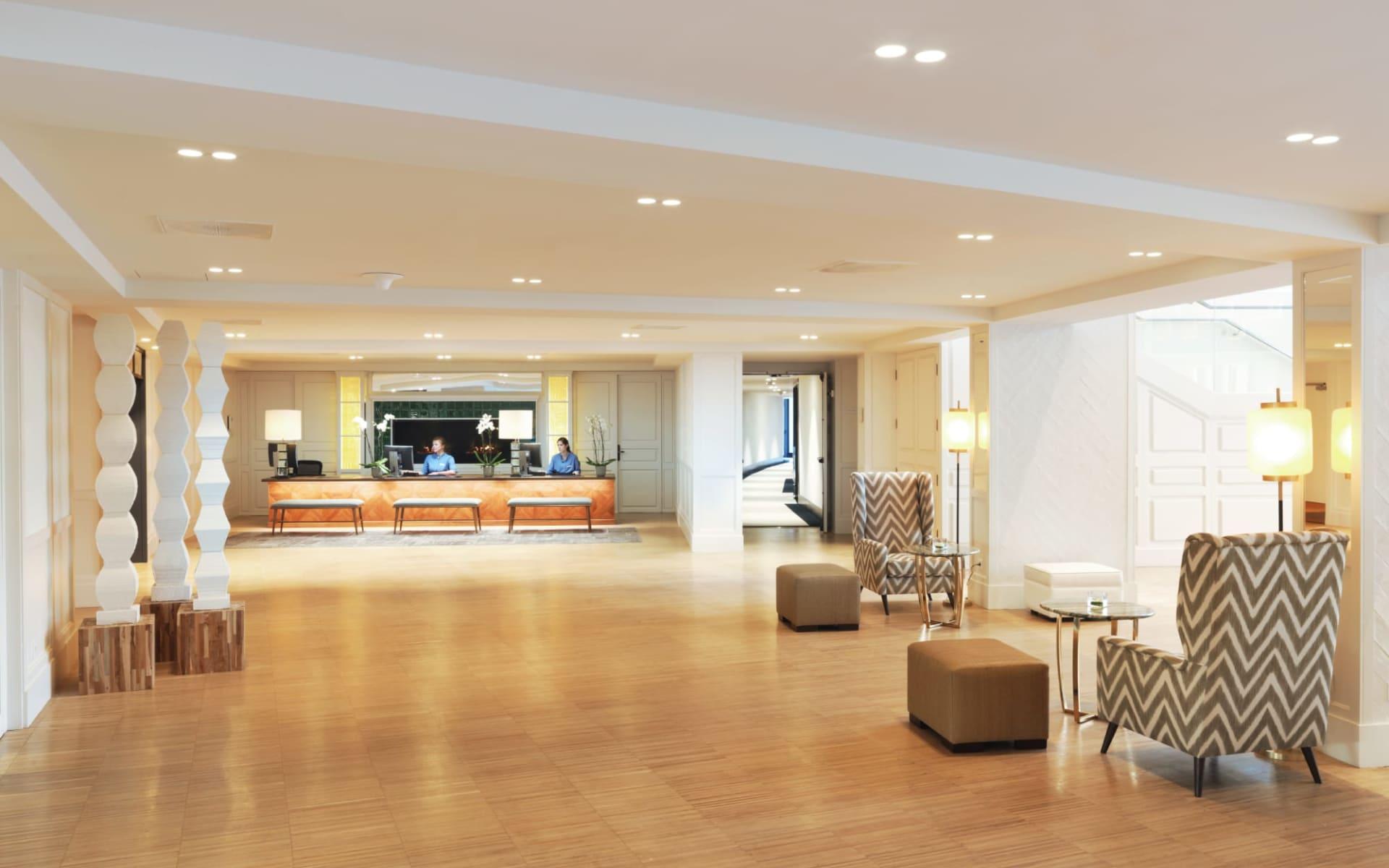 PGA Catalunya Resort - Hotel Camiral in Costa Brava:  PGA Catalunya Resort - Hotel Camiral - Rezeption