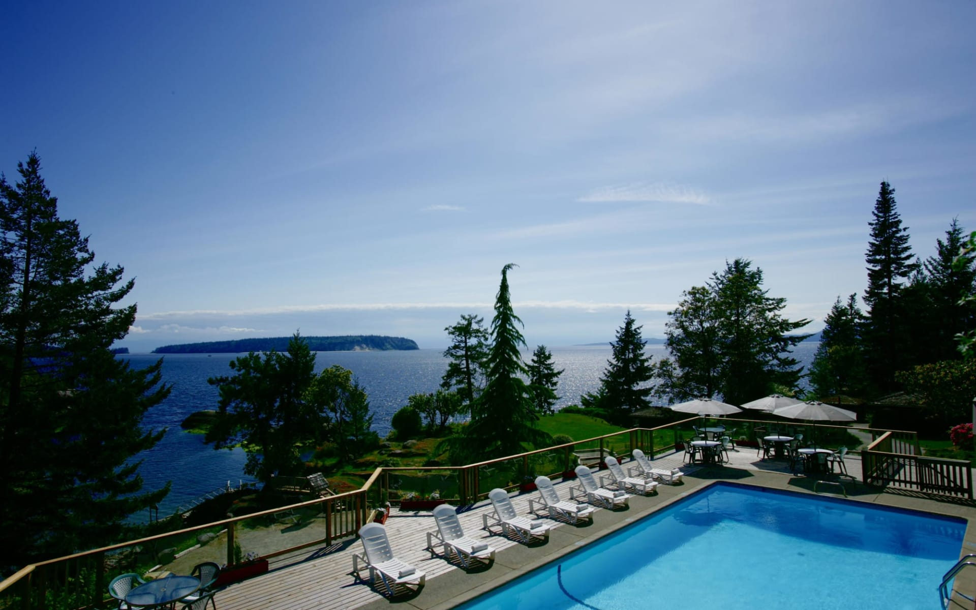 Rockwater Secret Cove Resort in Halfmoon Bay:  Rockwater Secret Cove Resort_Pool
