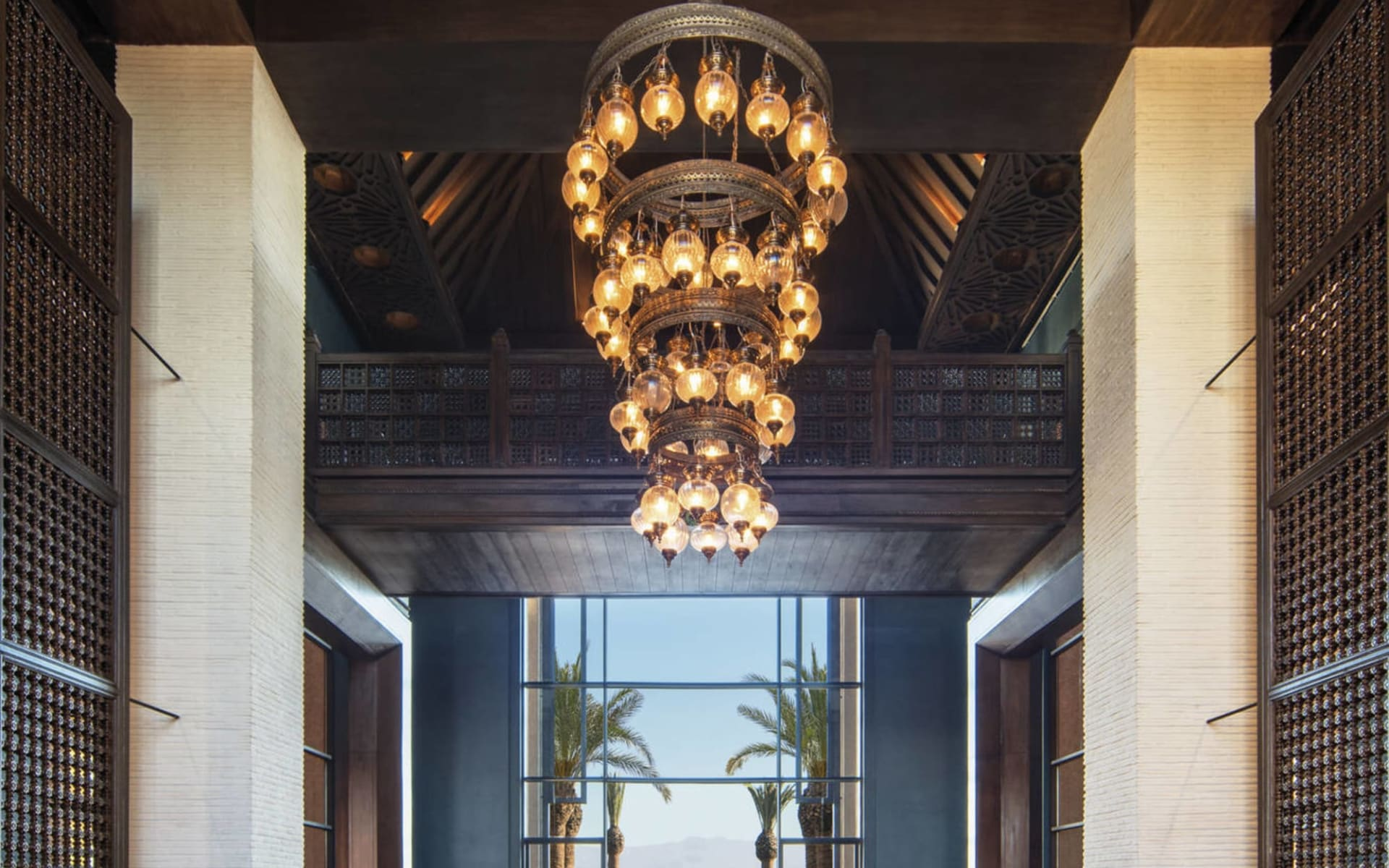 Royal Palm Beachcomber Luxury Marrakesch:  Royal Palm Beachcomber Luxury Marrakesch - Lobby