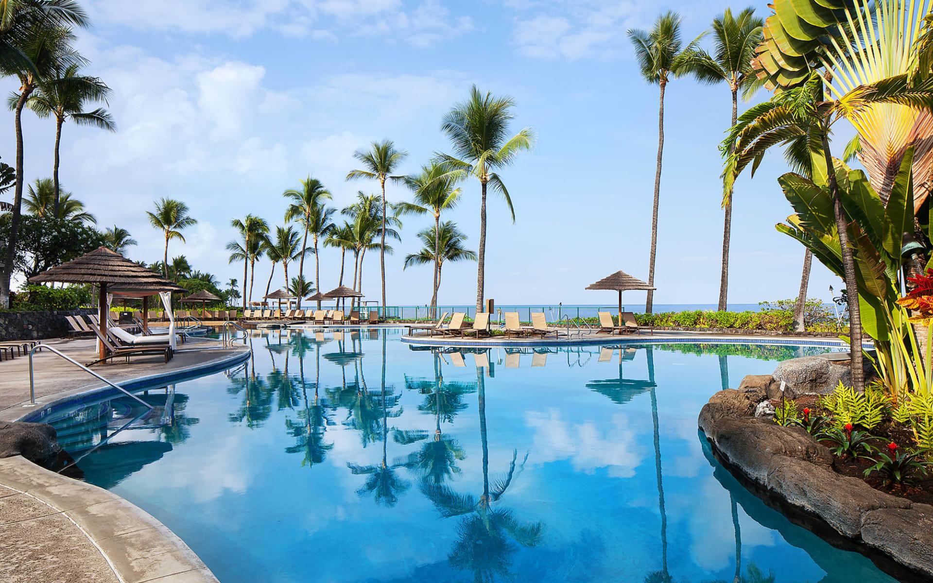 Sheraton Kona Resort & Spa at Keauhou Bay in Kailua-Kona: Facilities_Sheraton Kona Resort_Poollandschaft 2_Hotelchain