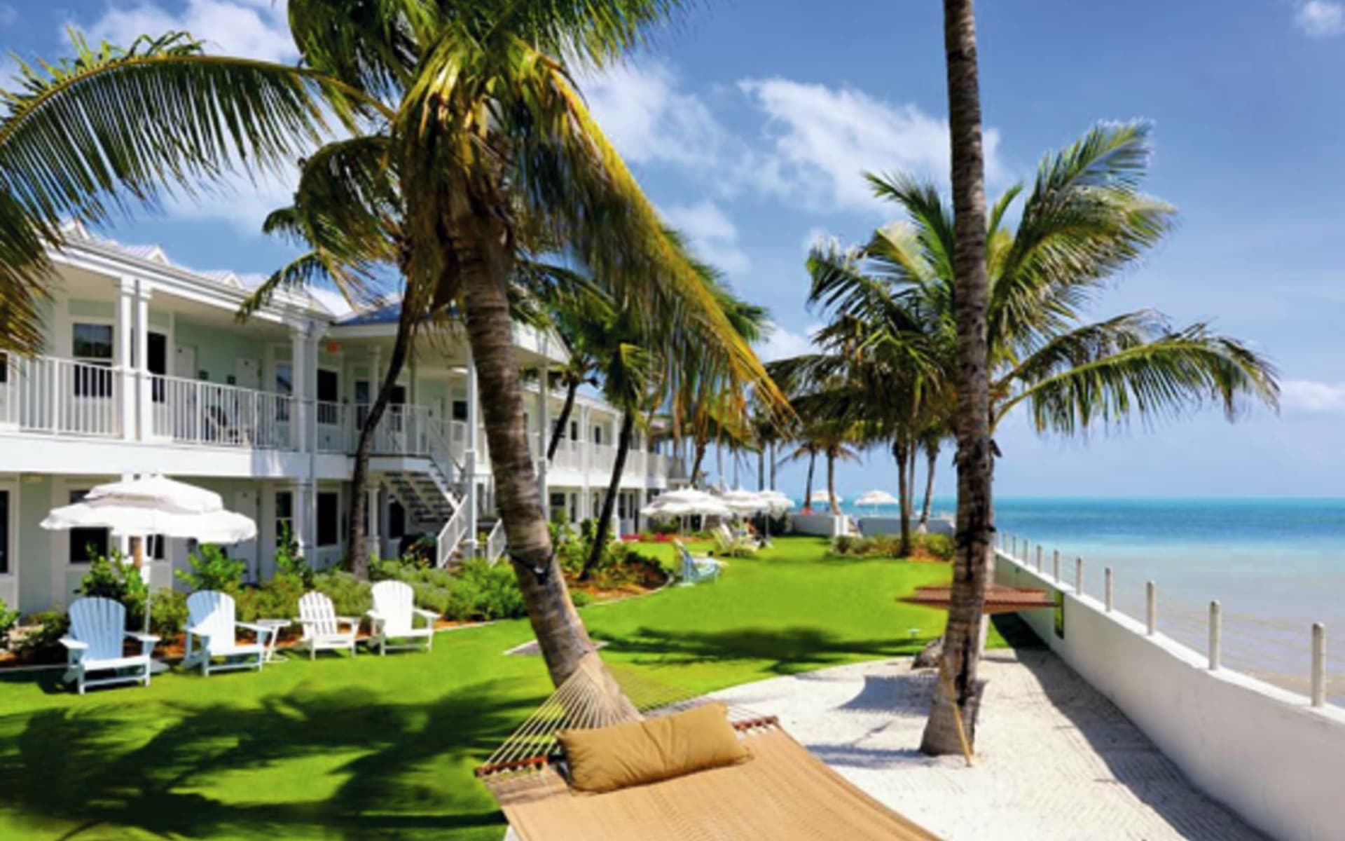 Southernmost Beach Resort in Key West: facilities southernmost beach resort hängematte palmen
