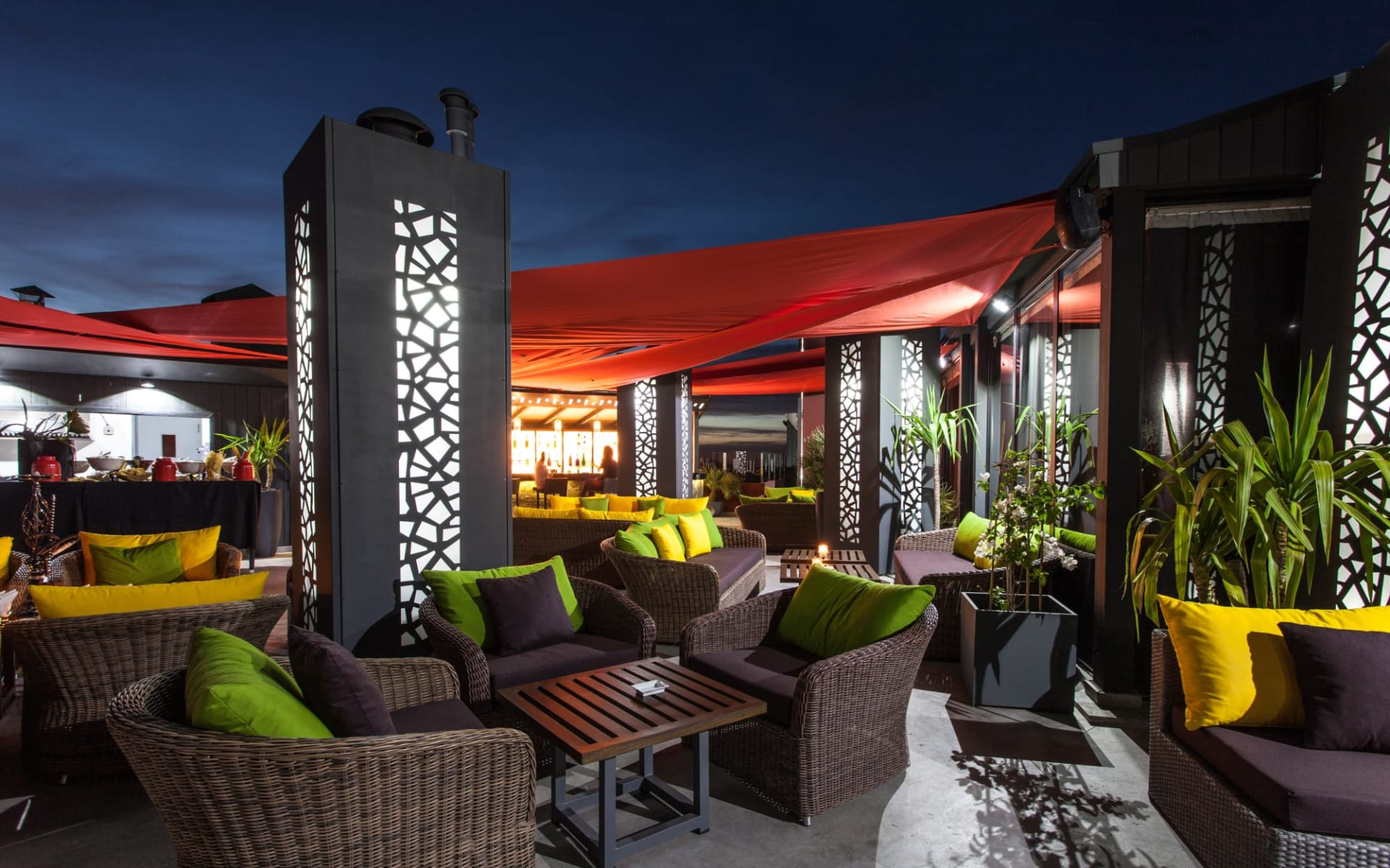 Hivernage Hotel & Spa in Marrakesch: Terrace