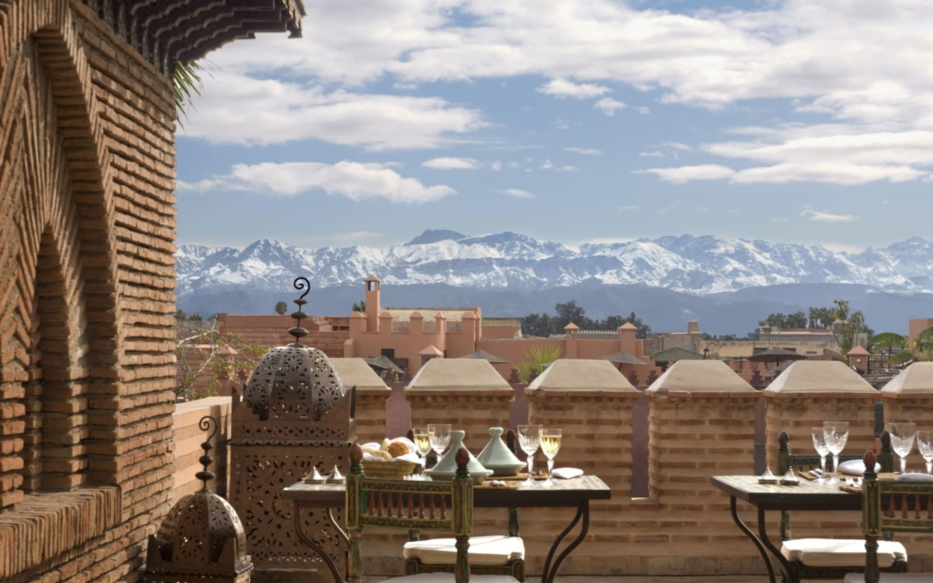 La Sultana Marrakech in Marrakesch:  Terrace