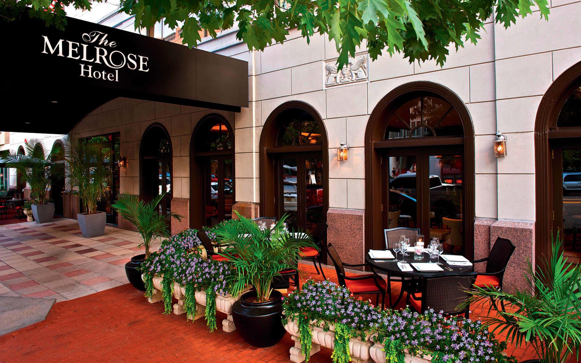 Melrose Georgetown Hotel in Washington D.C.: facilities the melrose georgetown hoteleingang