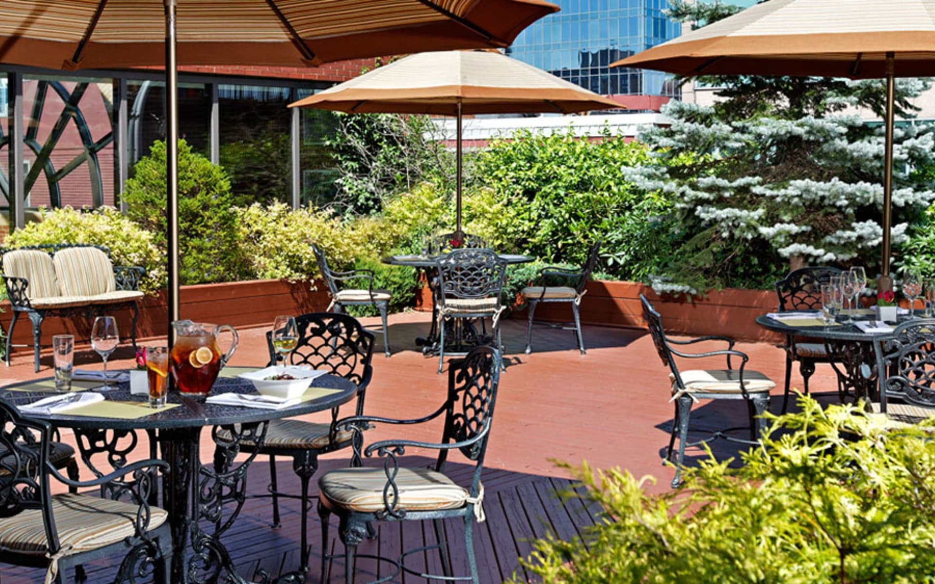 The Prince George Hotel in Halifax:  The Prince George Hotel_Patio